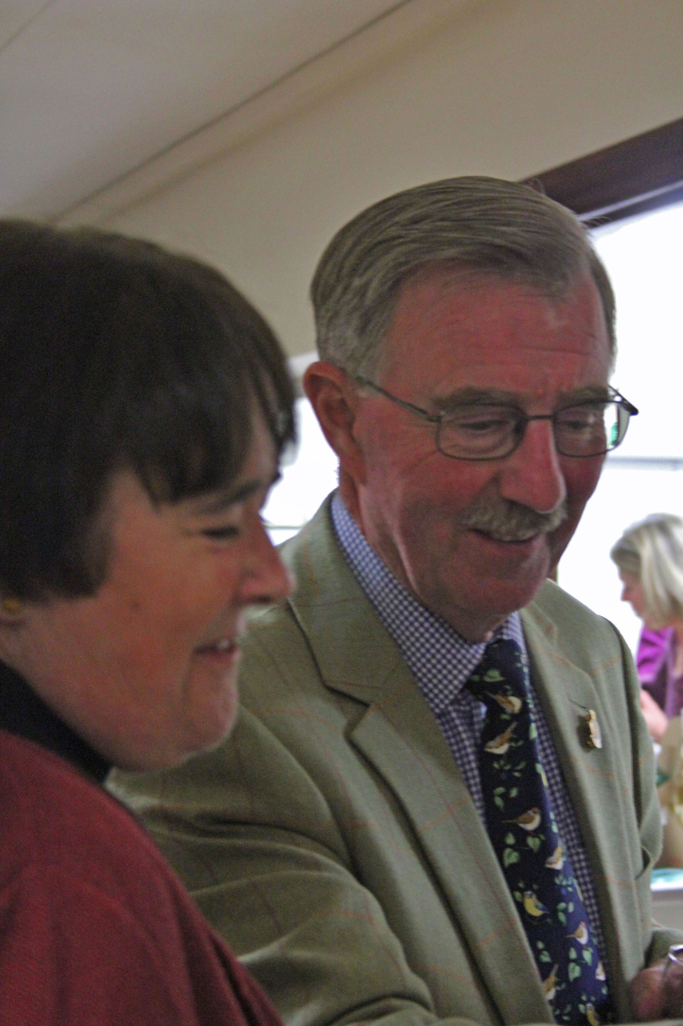 Revd Rosemary and Mike Catell