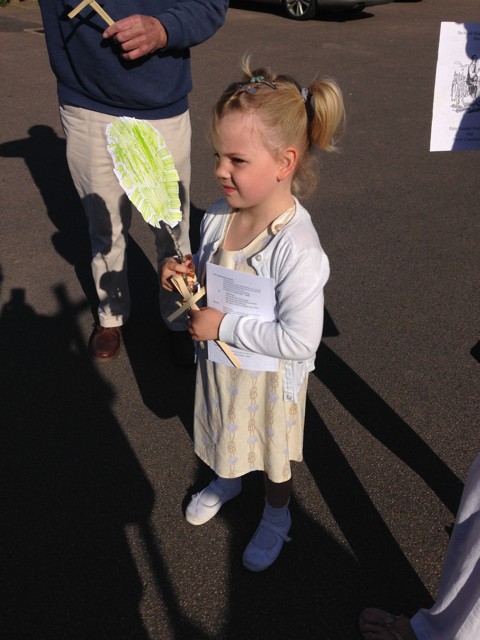 A home-made palm