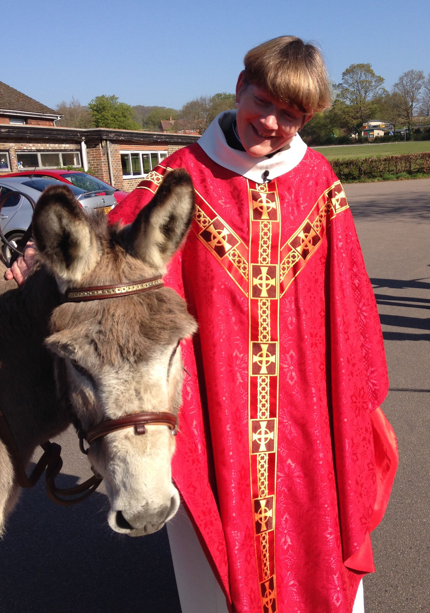 The Vicar with Dillon