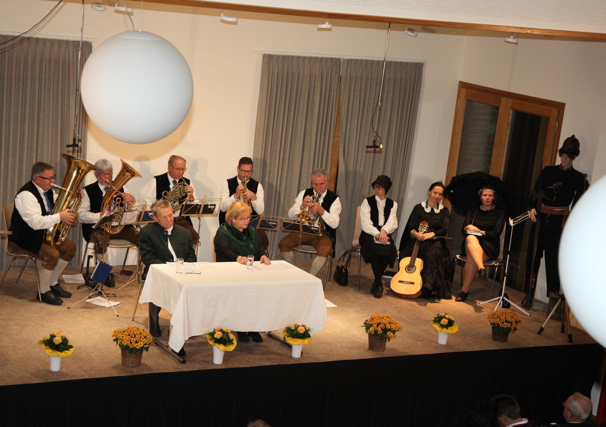 Alle Interpreten auf der Bühne