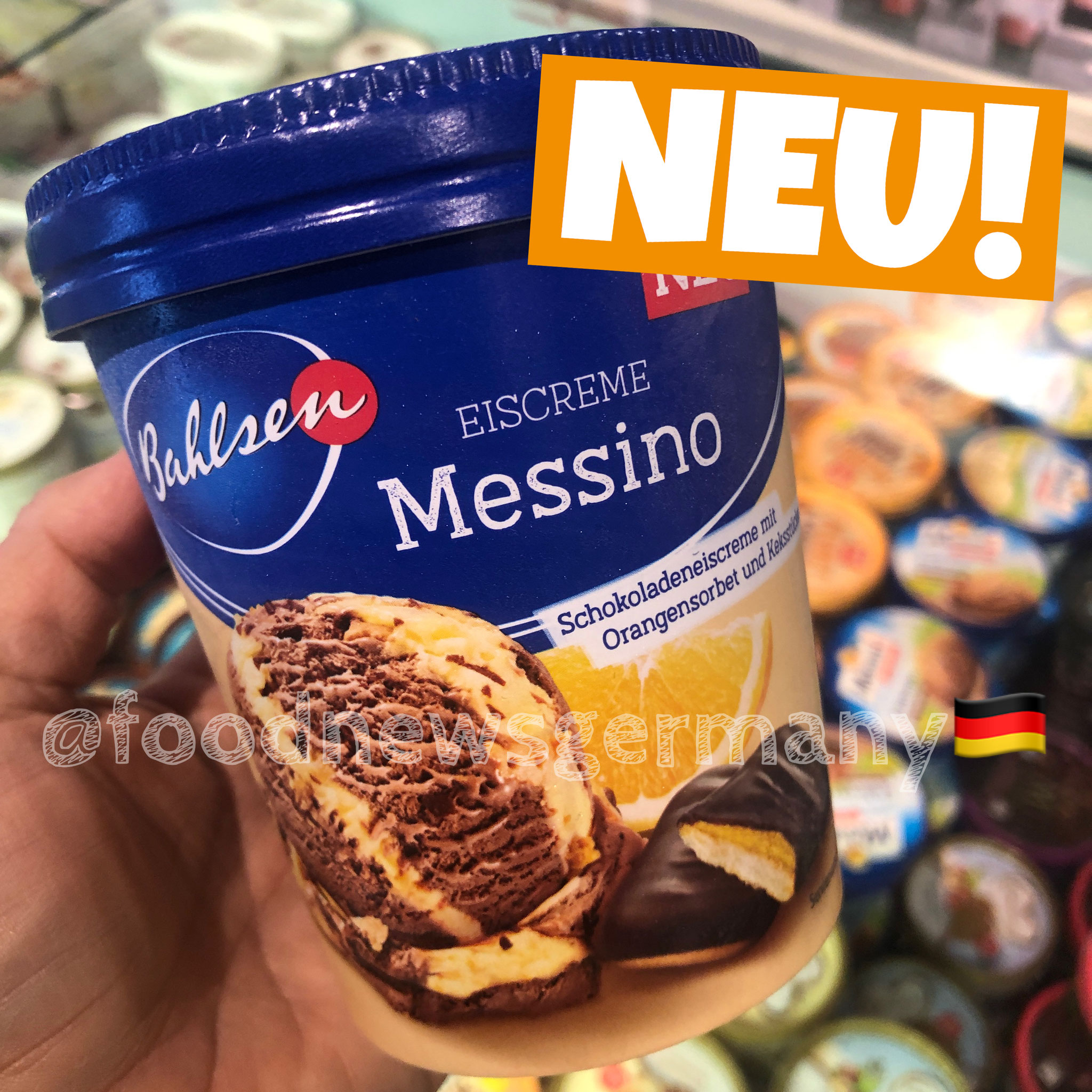 Bahlsen Eiscreme Messino