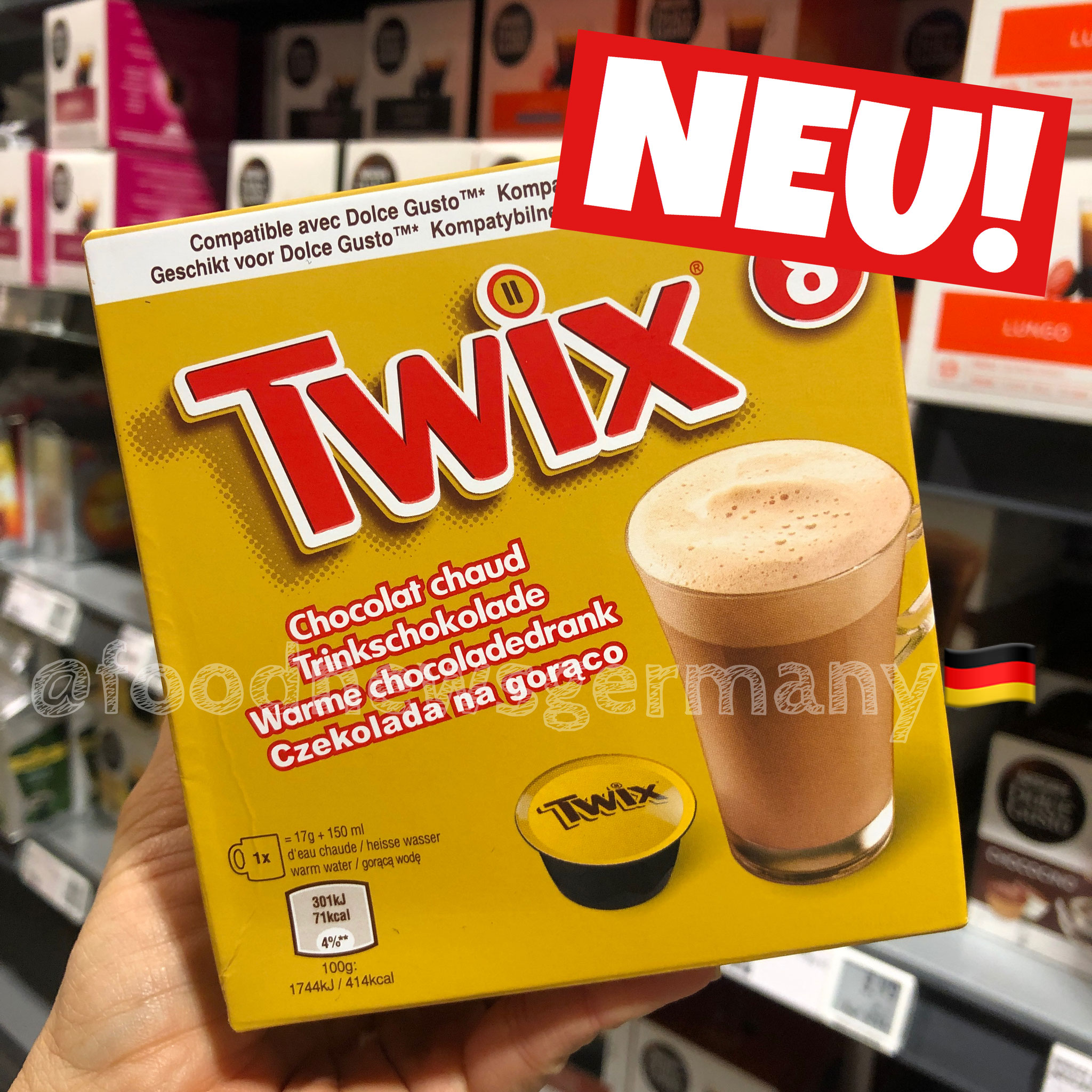 Twix Dolce Gusto Coffee Pods