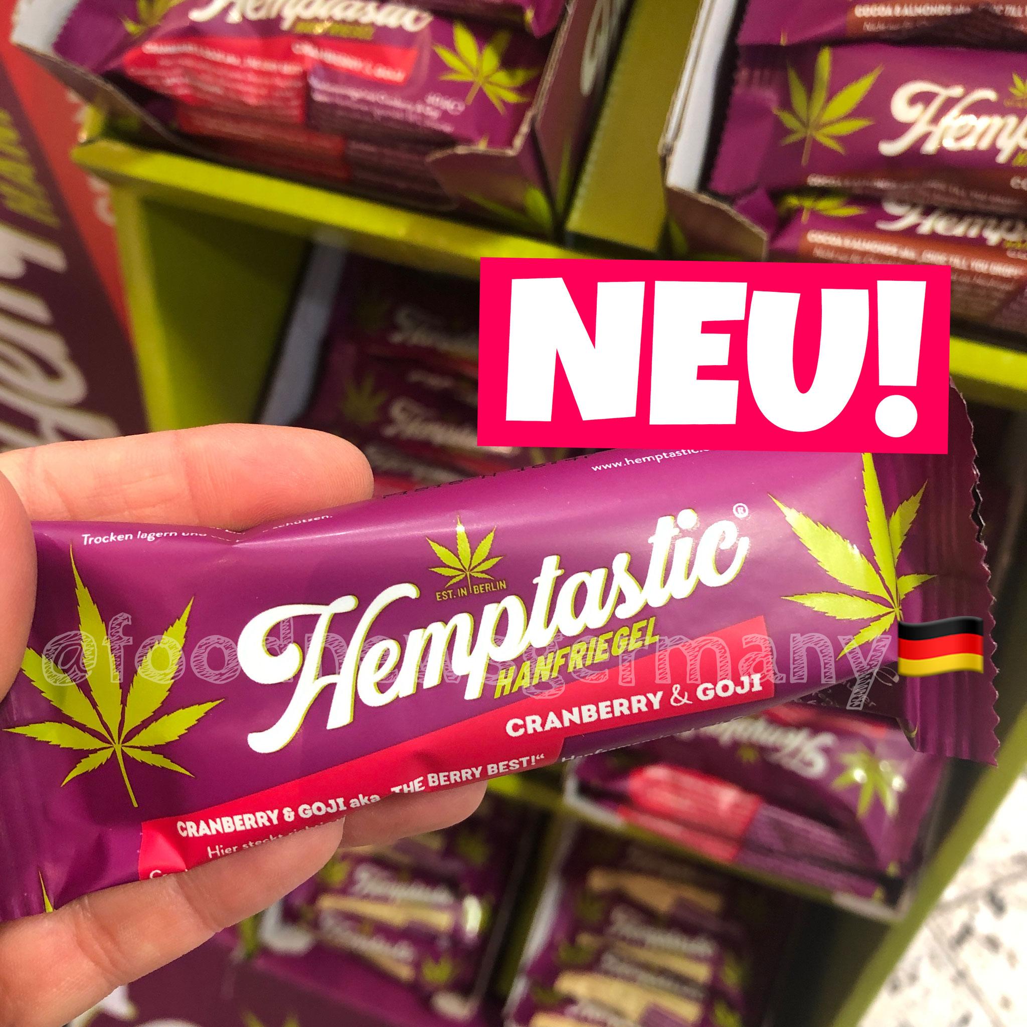Hemptastic Hanfriegel Cranberry & Goji