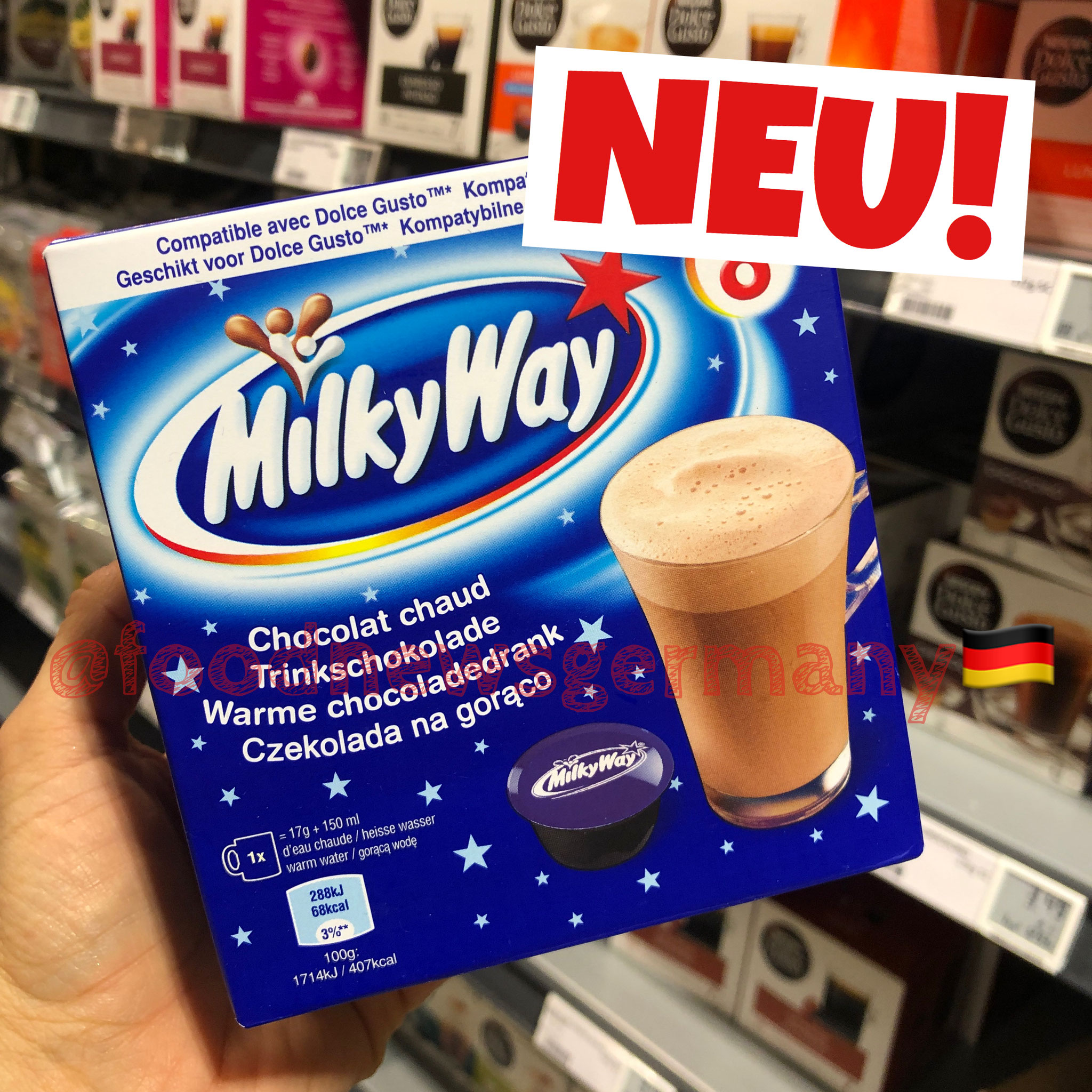 Milky Way Dolce Gusto Coffee Pods