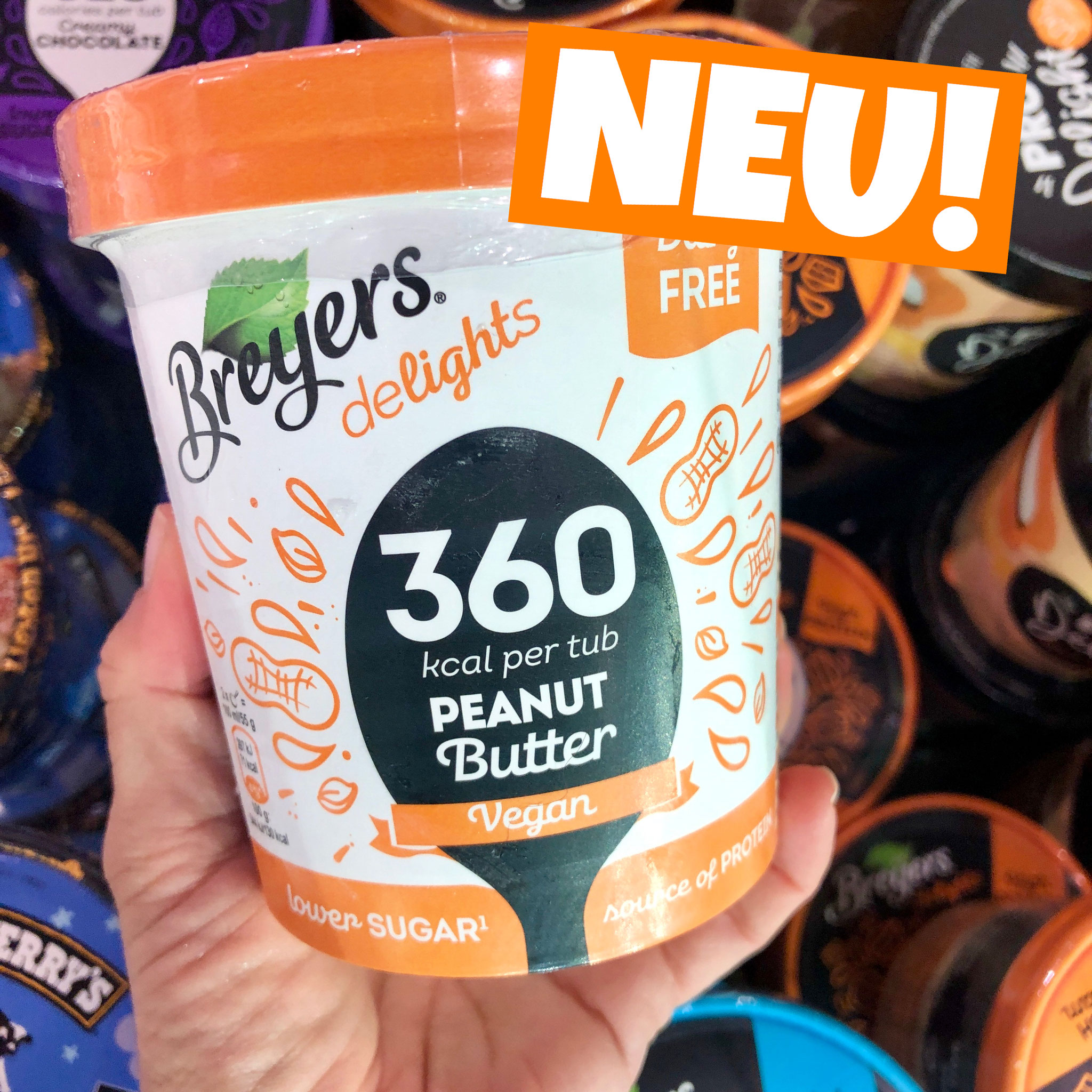 Breyers Delights Peanut Butter vegan