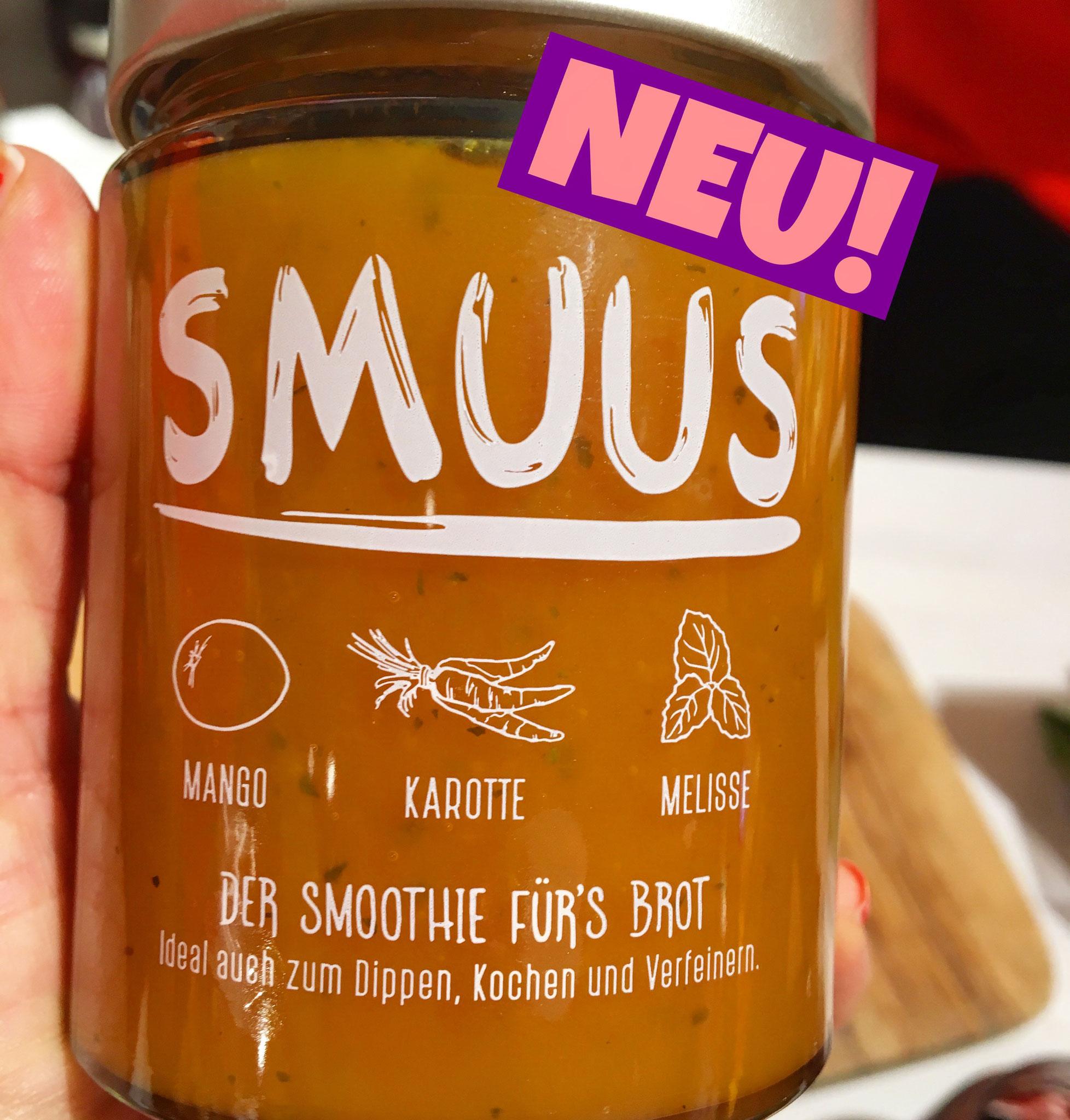Smuus Smoothie fürs Brot