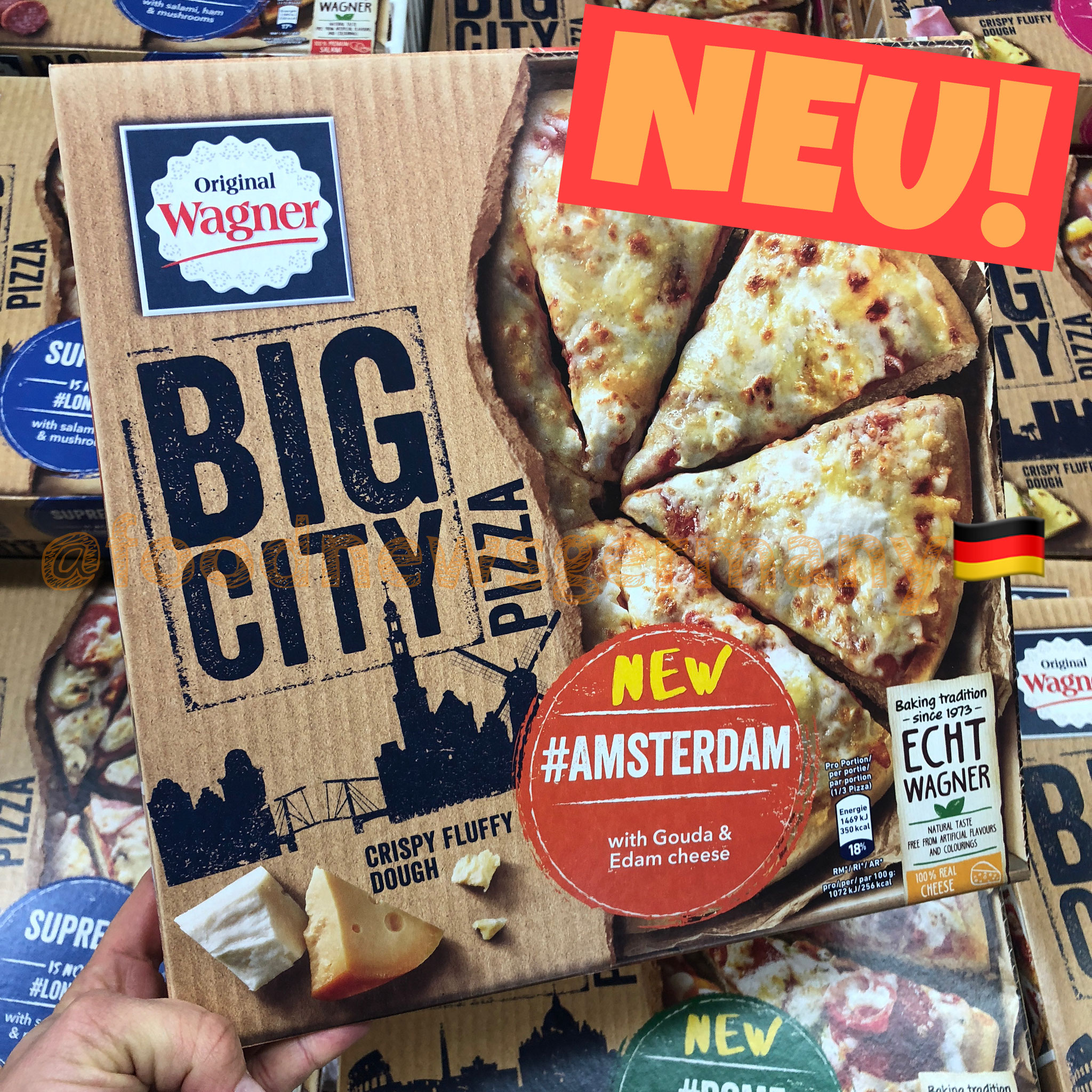 Original Wagner Big City Pizza Amsterdam