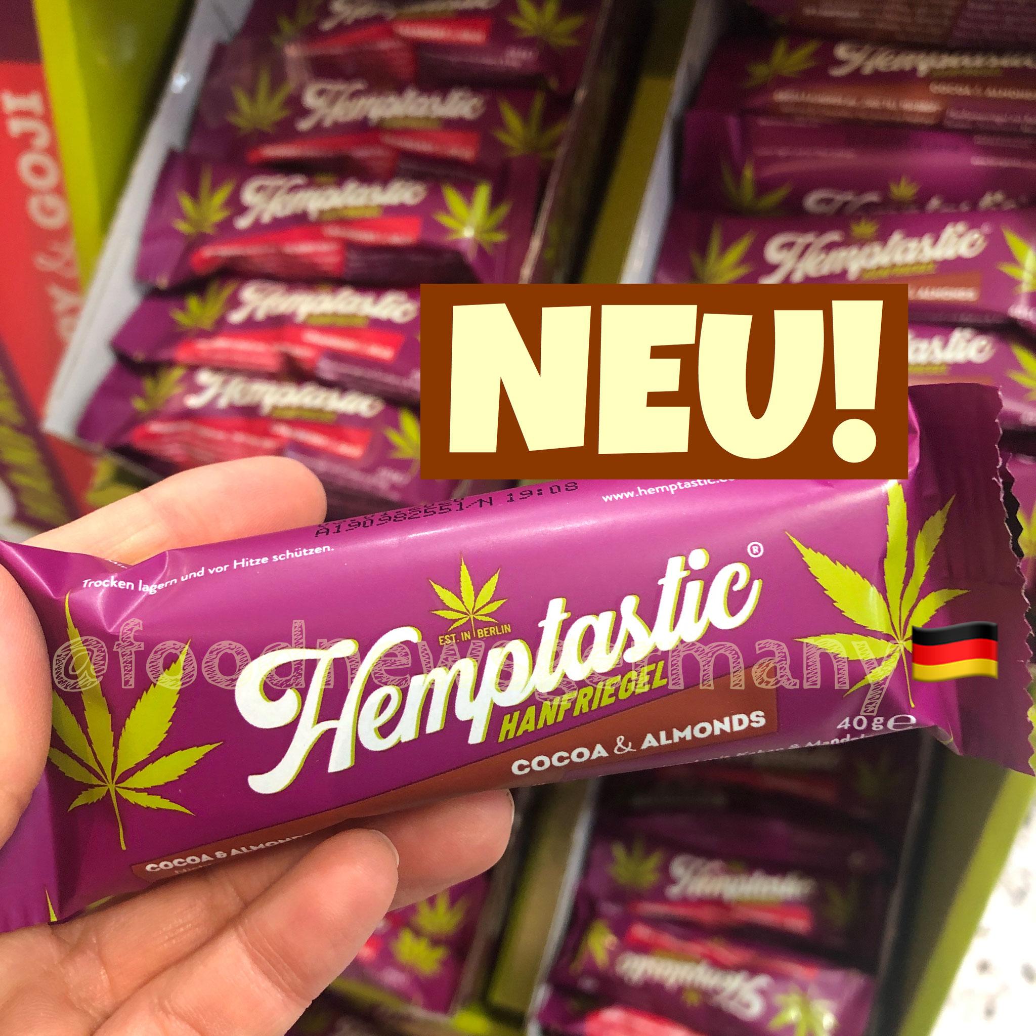 Hemptastic Hanfriegel Cocoa & Almonds
