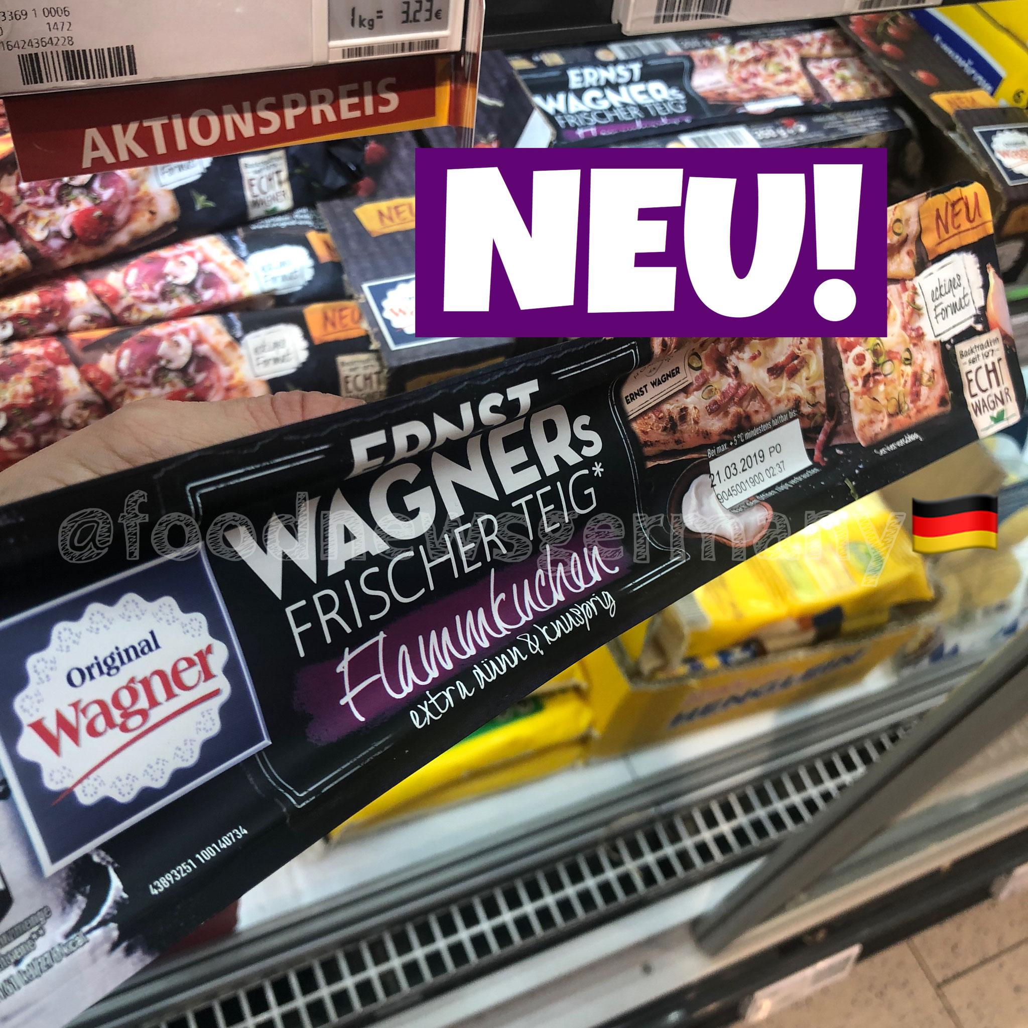 Ernst Wagners Frische Teig Flammkuchen
