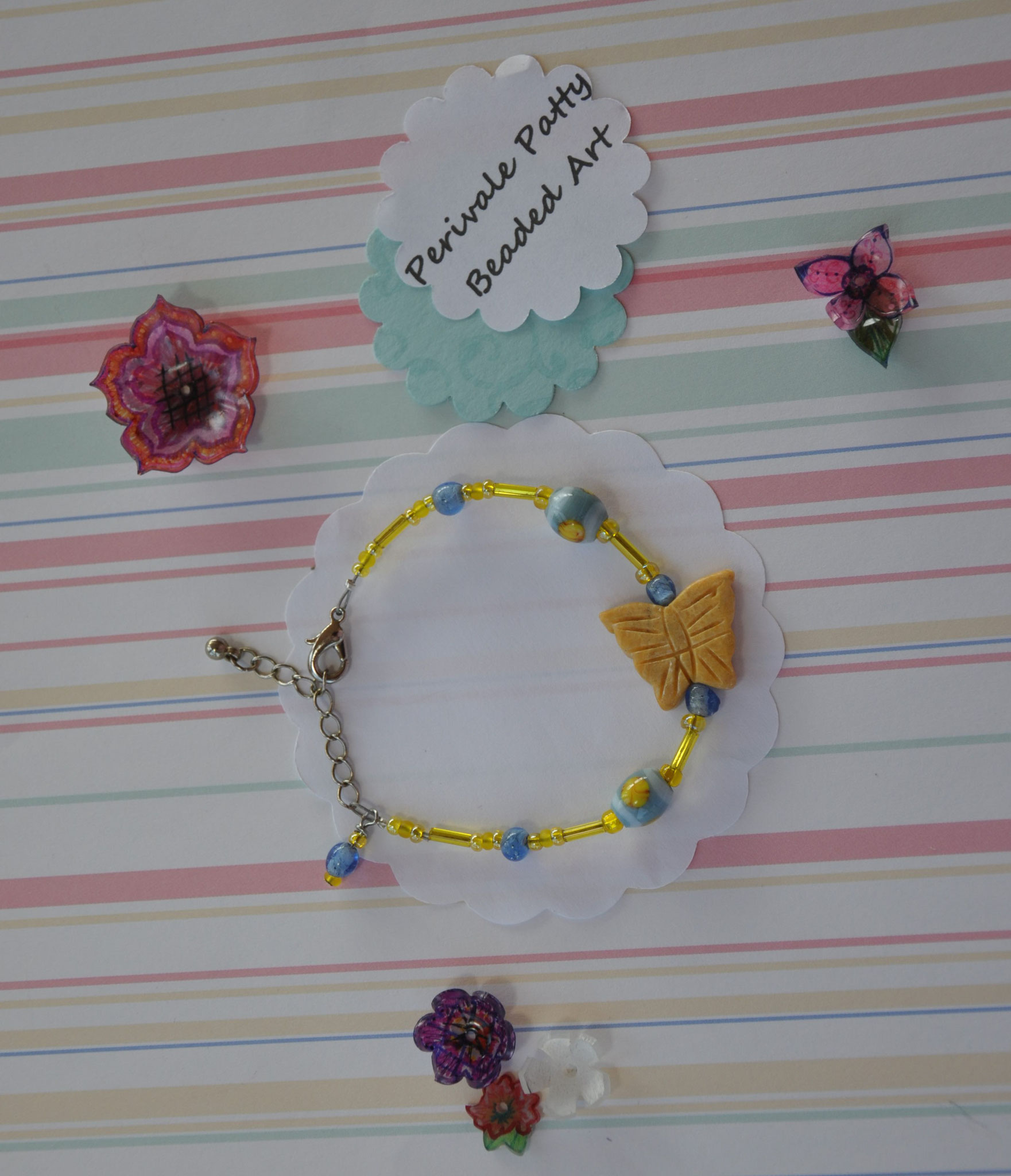 Perivale Patty Butterfly Bracelet   $15.00