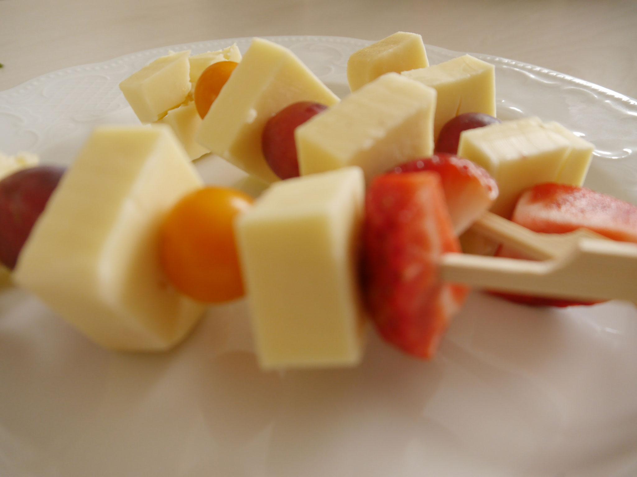Käsespieße
