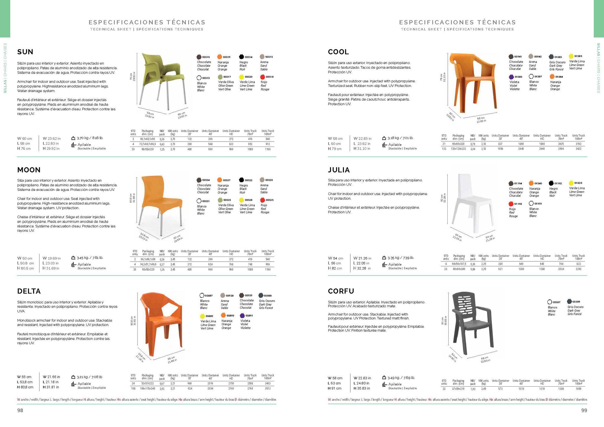 4h4455 evento design sedie