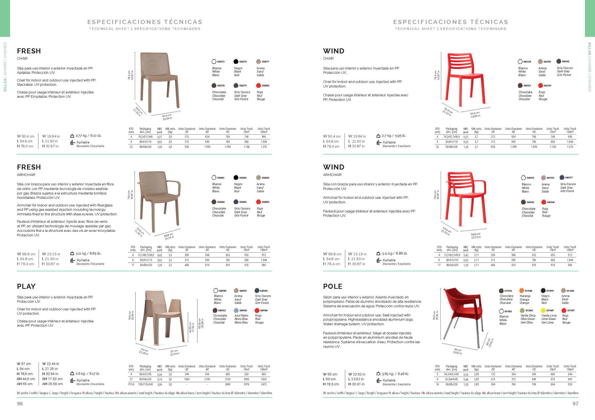 44455 evento design sedie
