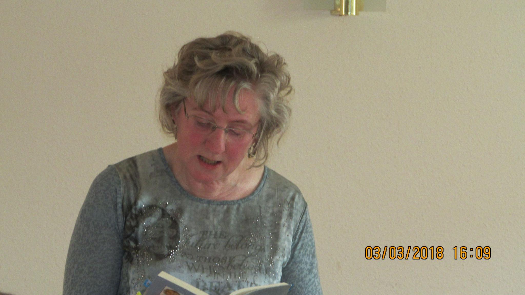 Lesung in Bresegard bei Eldena