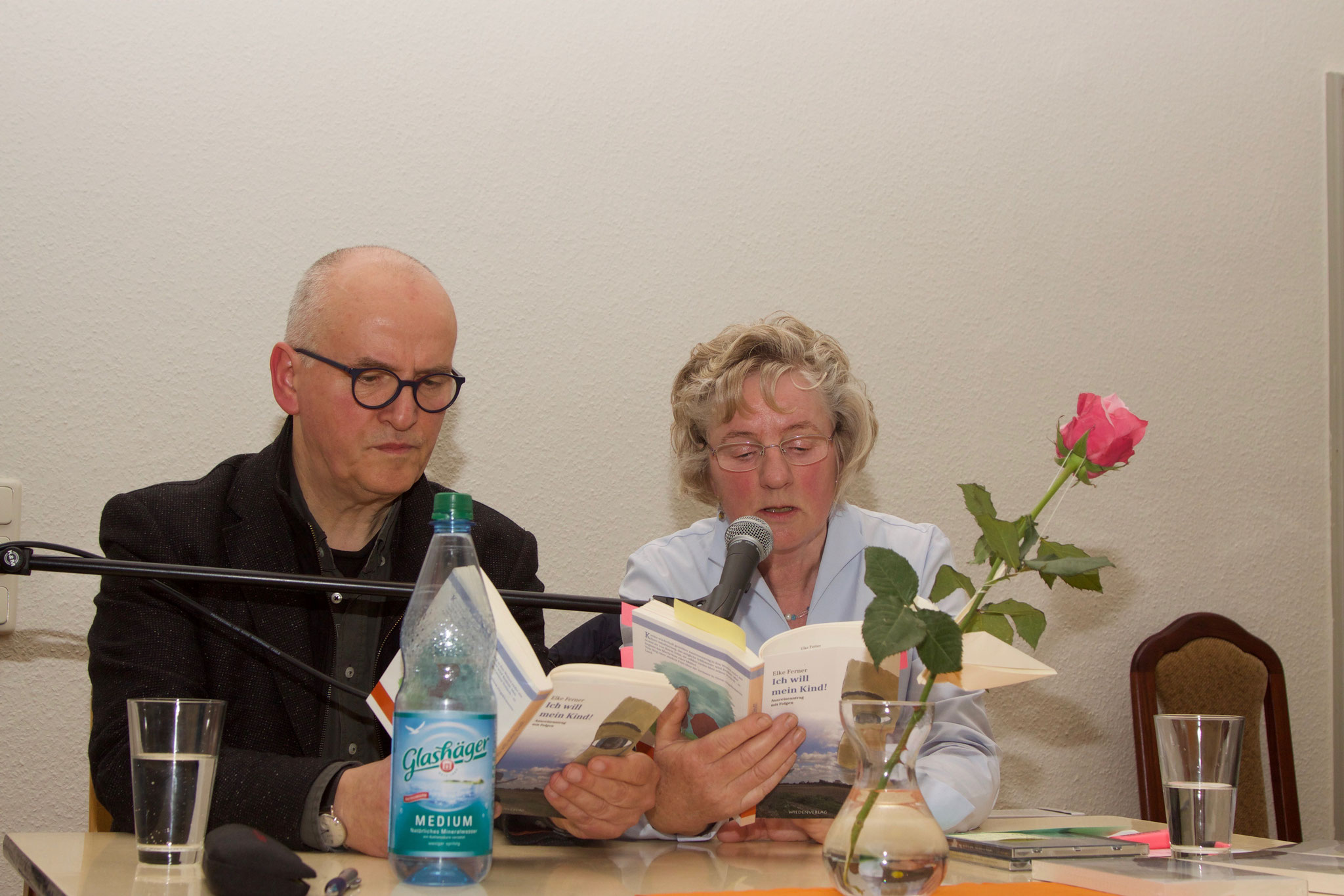 """Lesung mit Günther Möller aus """"Ich will mein Kind!"""" 24.11.17"""