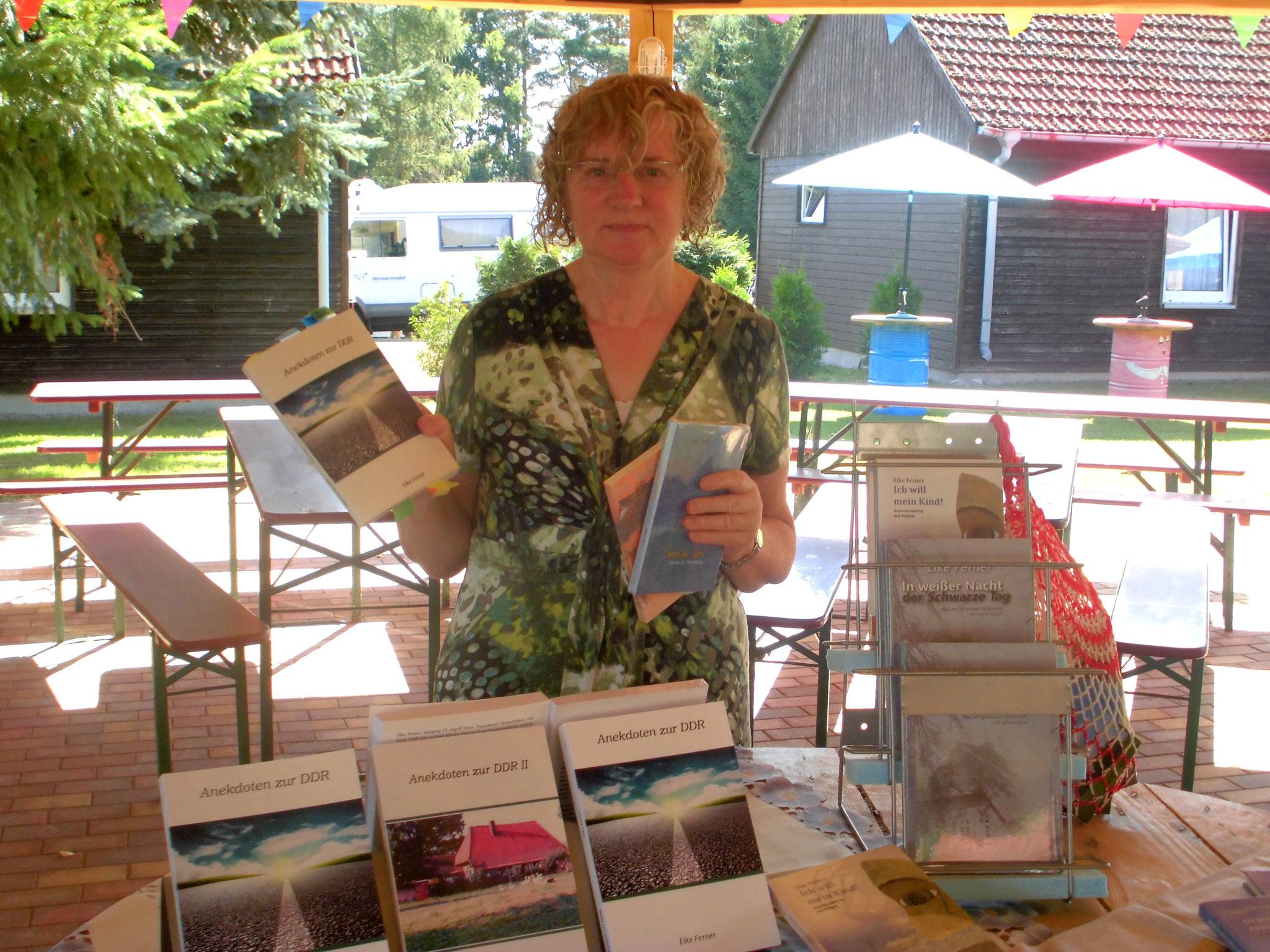 Meseumsfest Dabel Präsentation von Büchern