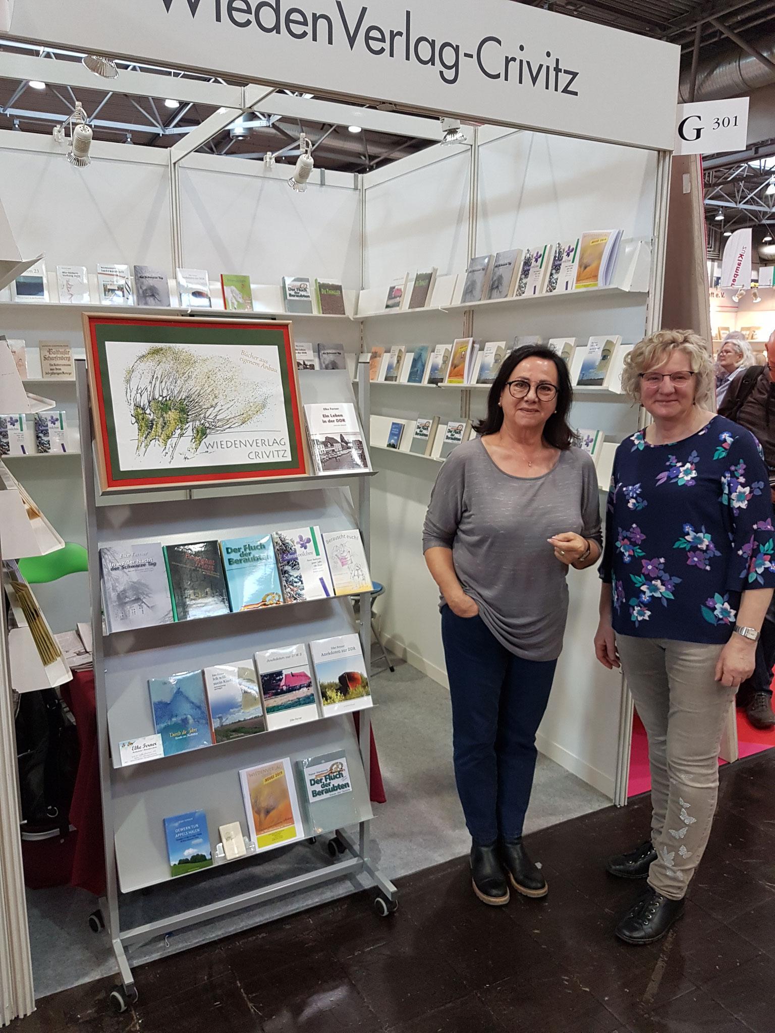 Auf der Leipziger Buchmesse 2019