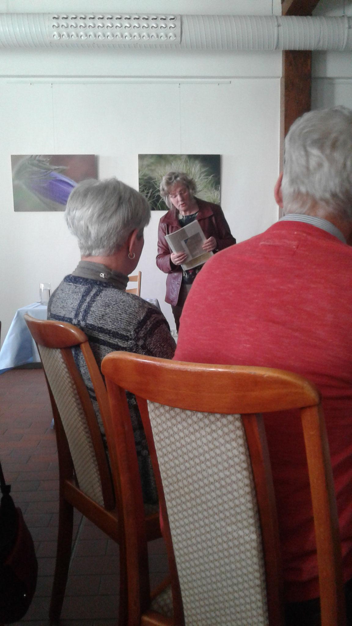 Lesung auf Platt in der Kröpeliner Mühle