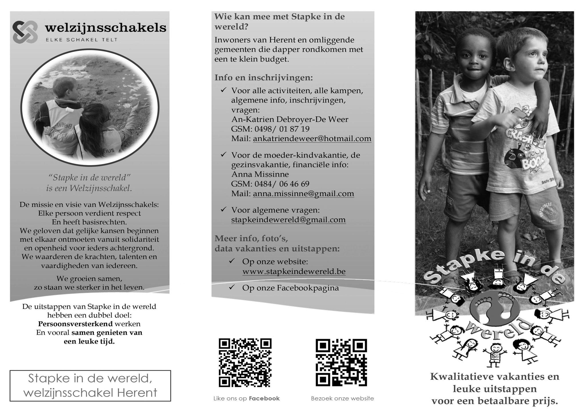 Brochure bladzijde 1
