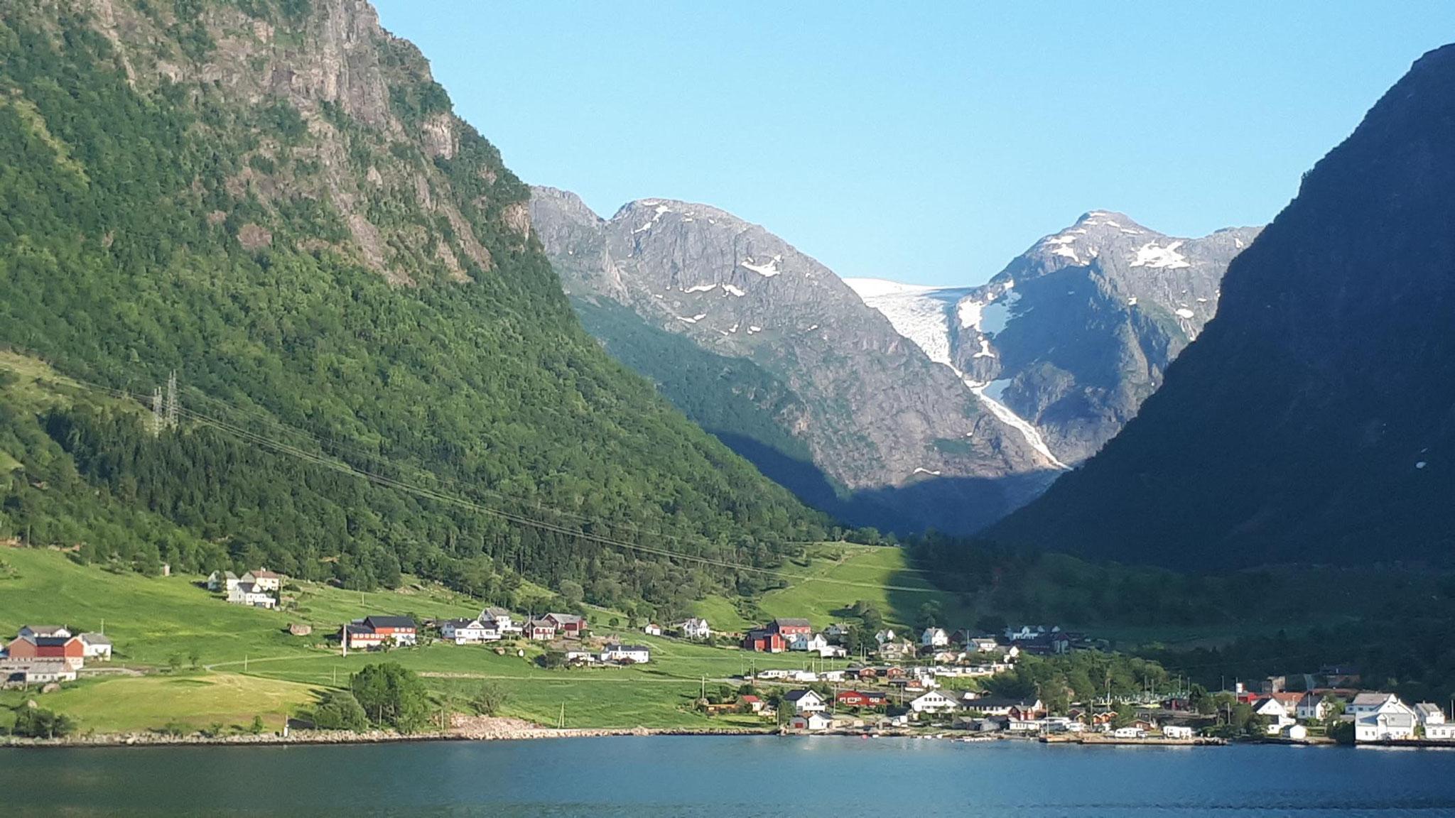 Ausläufer des Folgefonna Gletschers