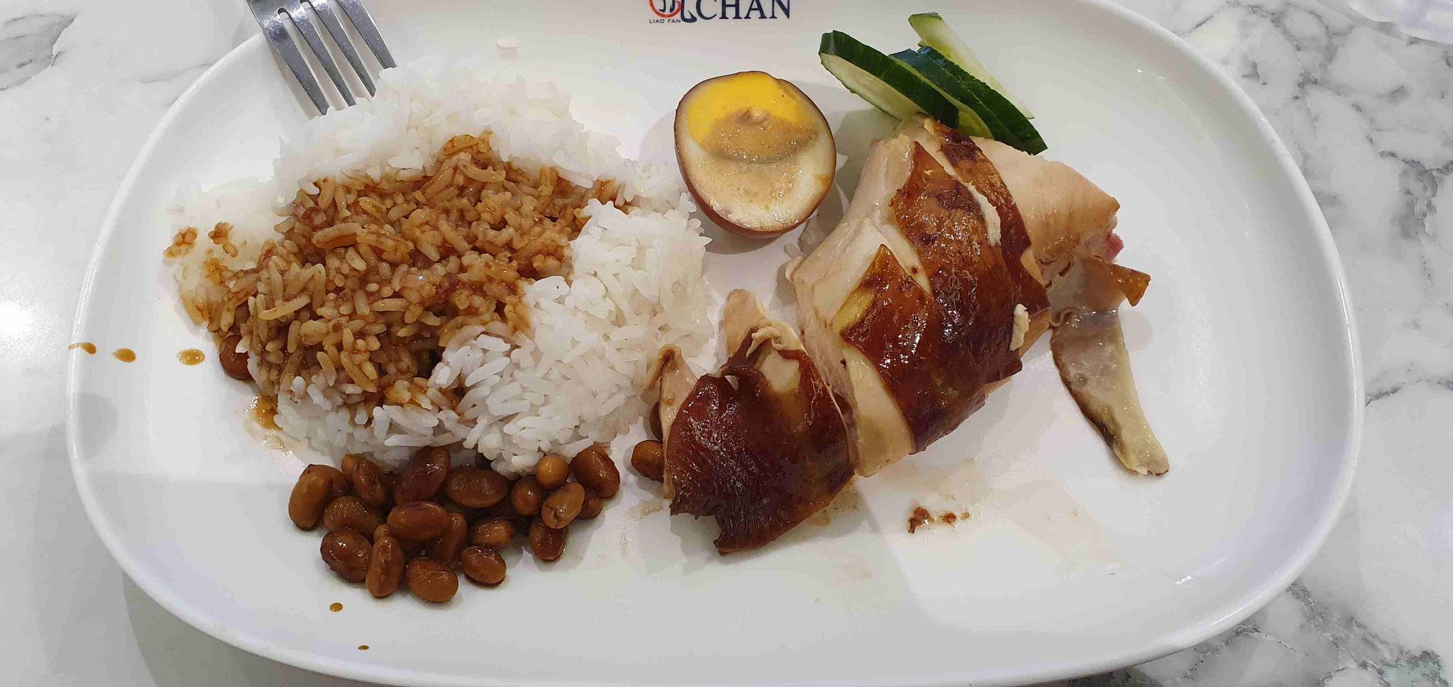 Soya Sauce Chicken Rice von Mr. Chan