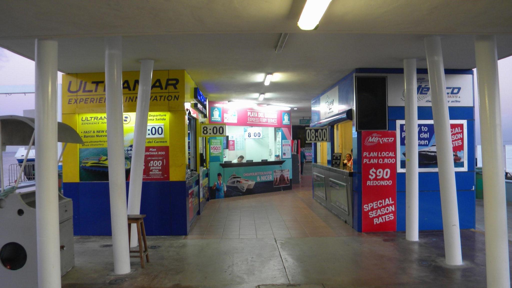 Ticketverkauf in San Miguel