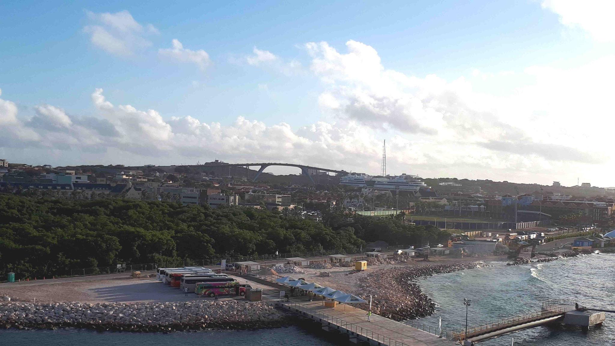zweiter Mega Cruise Terminal im Bau