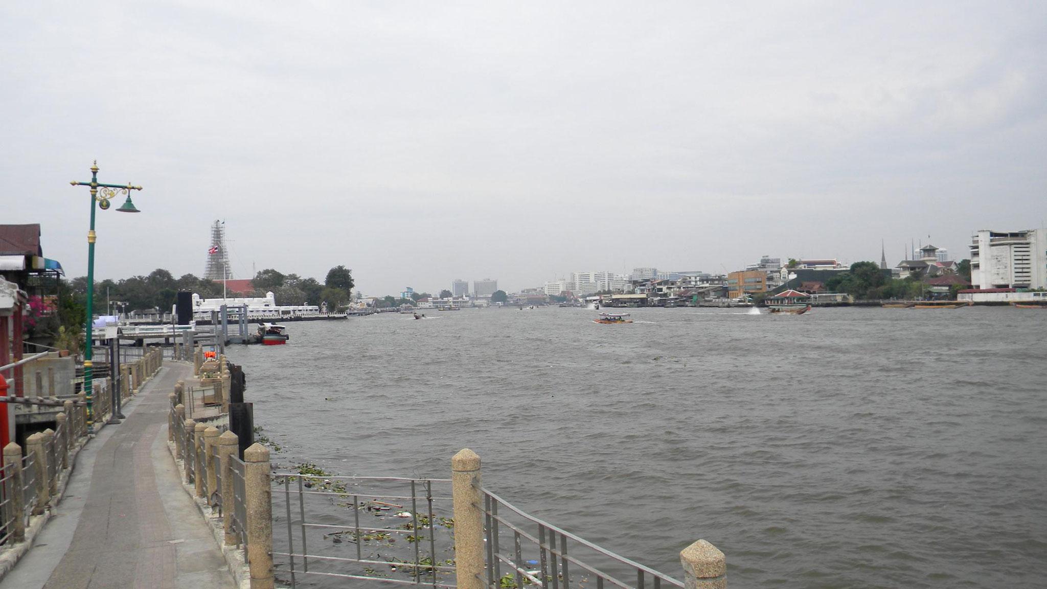 Fahrradweg am Chao-Phraya-River