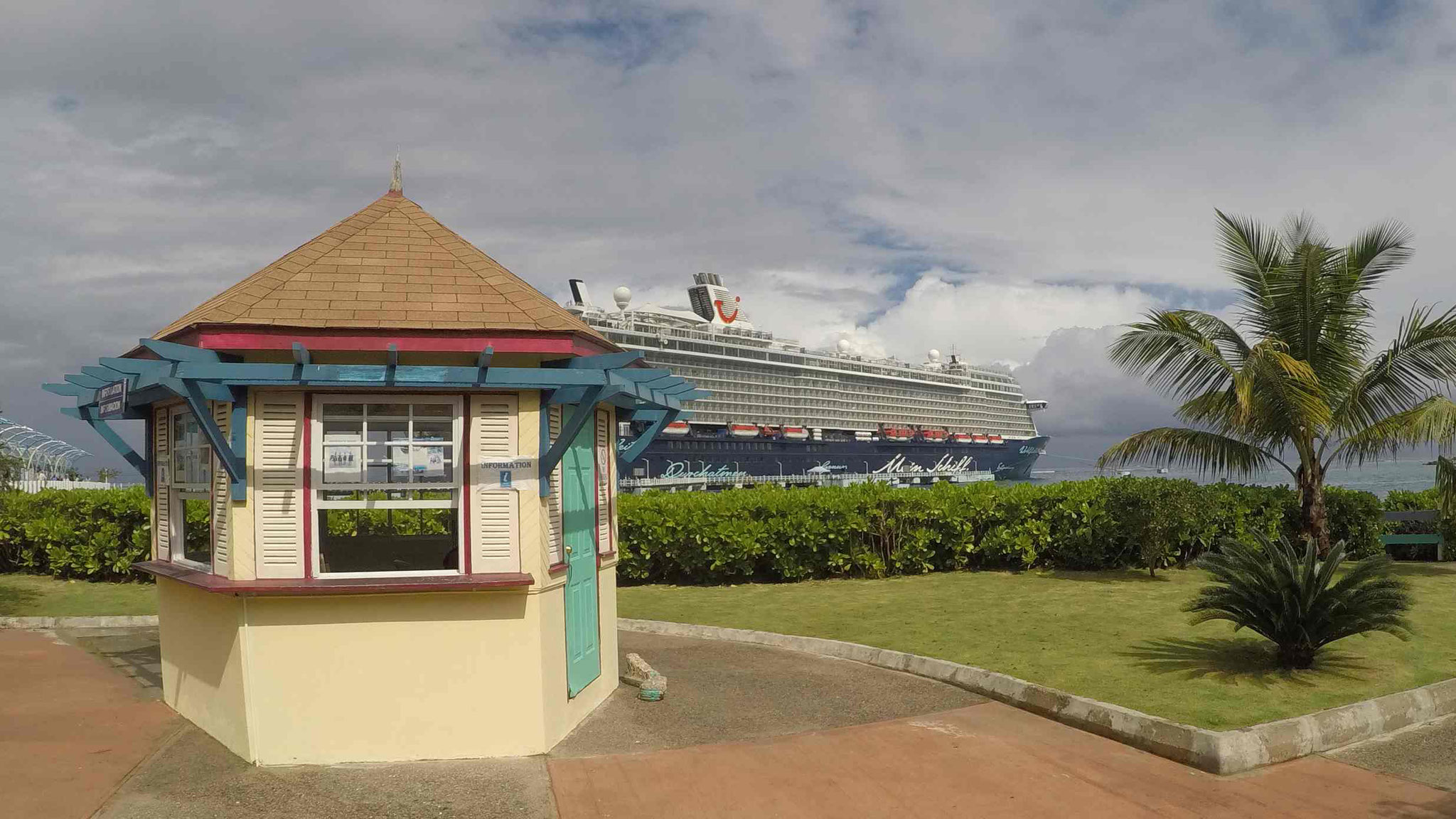 Touristeninformation am Ocho Rios Cruise Terminal