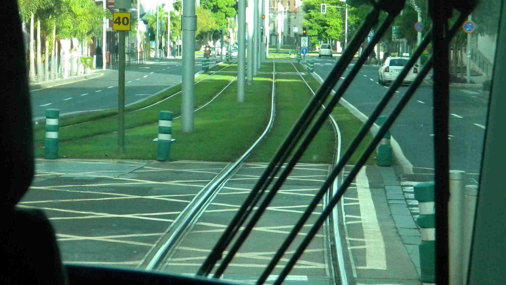 Straßenbahn Linie 1 nach La Laguna