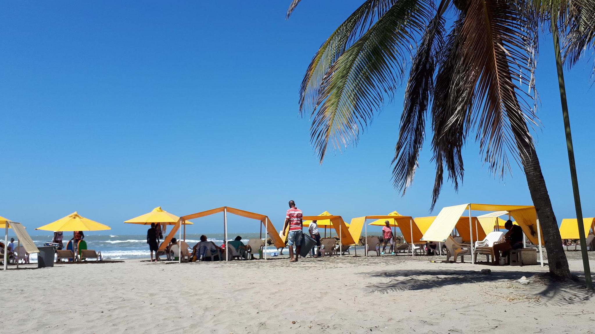 Strand auf Bocagrande