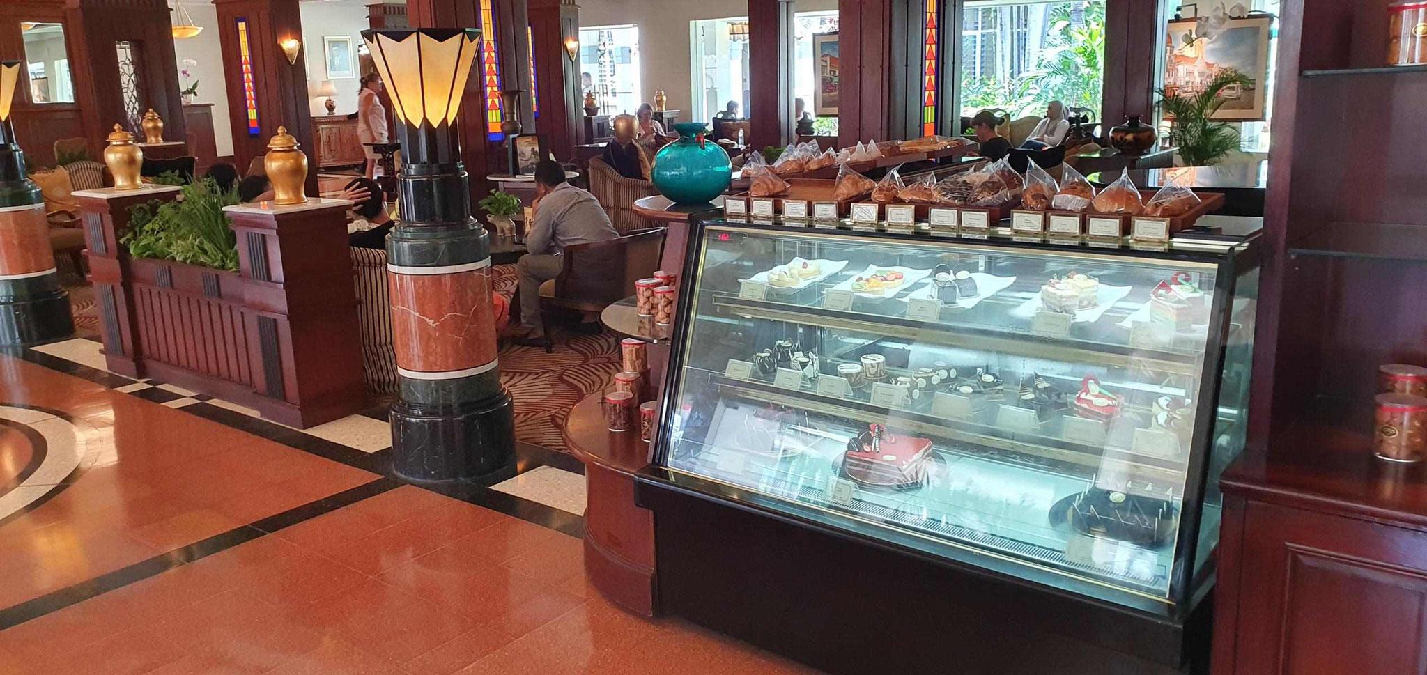 Lobby im Hotel Majapahit