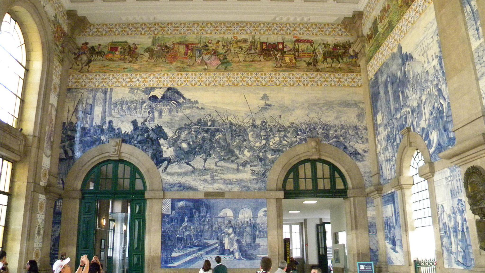 Bahnhof  Estação de São Bento