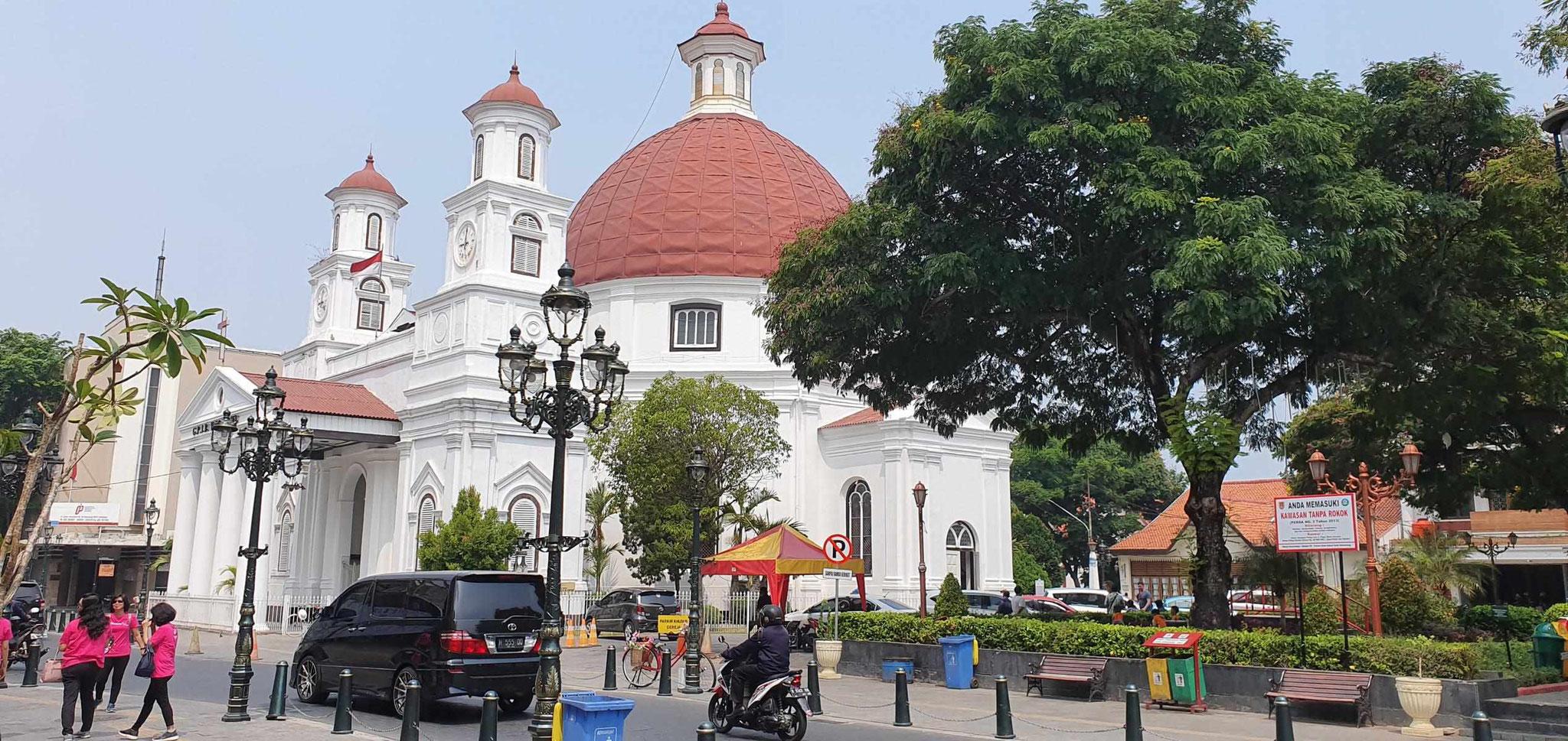 Altstadt mit der Kirche Gereja Blenduk