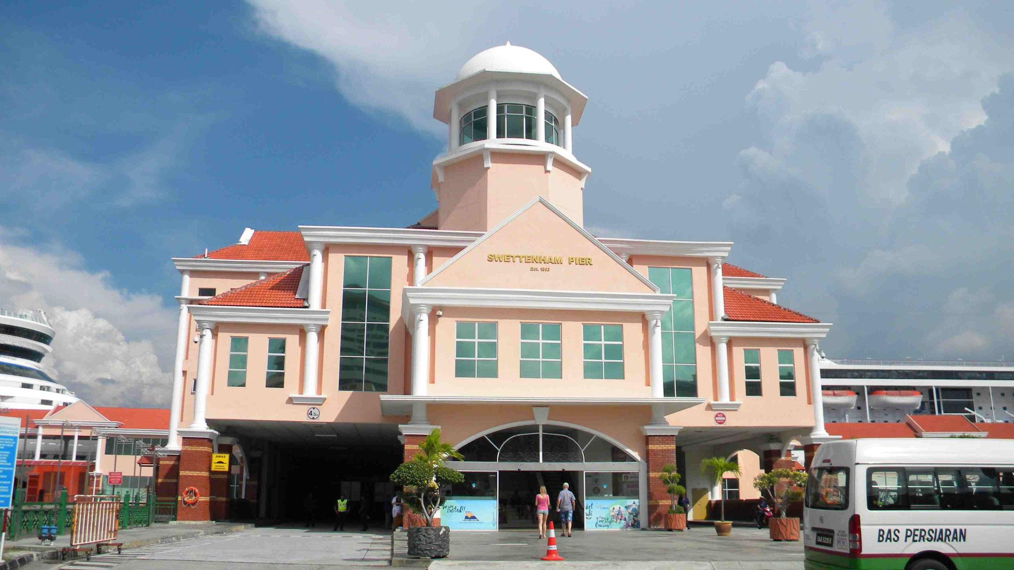 Swettenham Pier in Penang