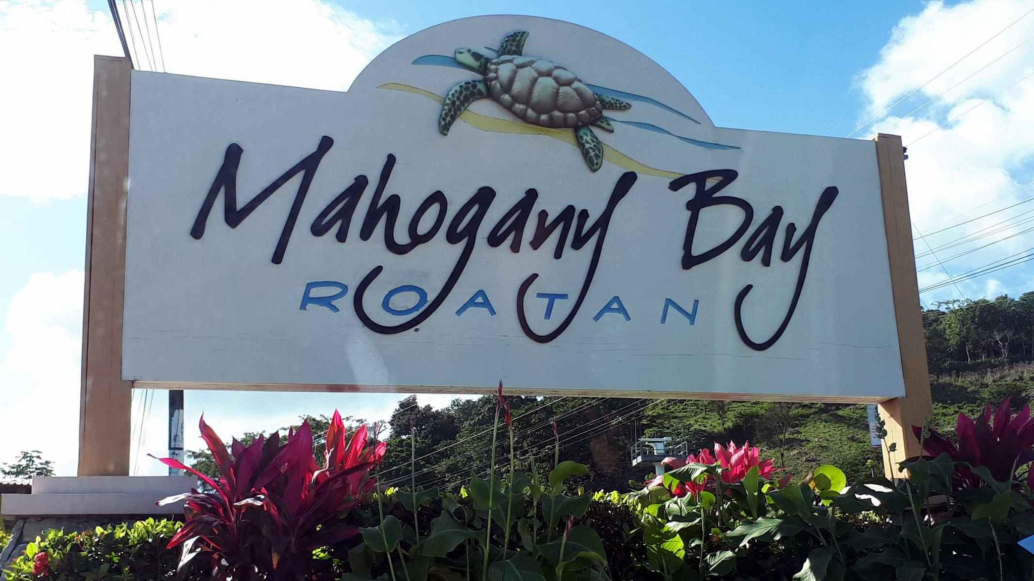 Eingang zum Terminal Mahogany Bay
