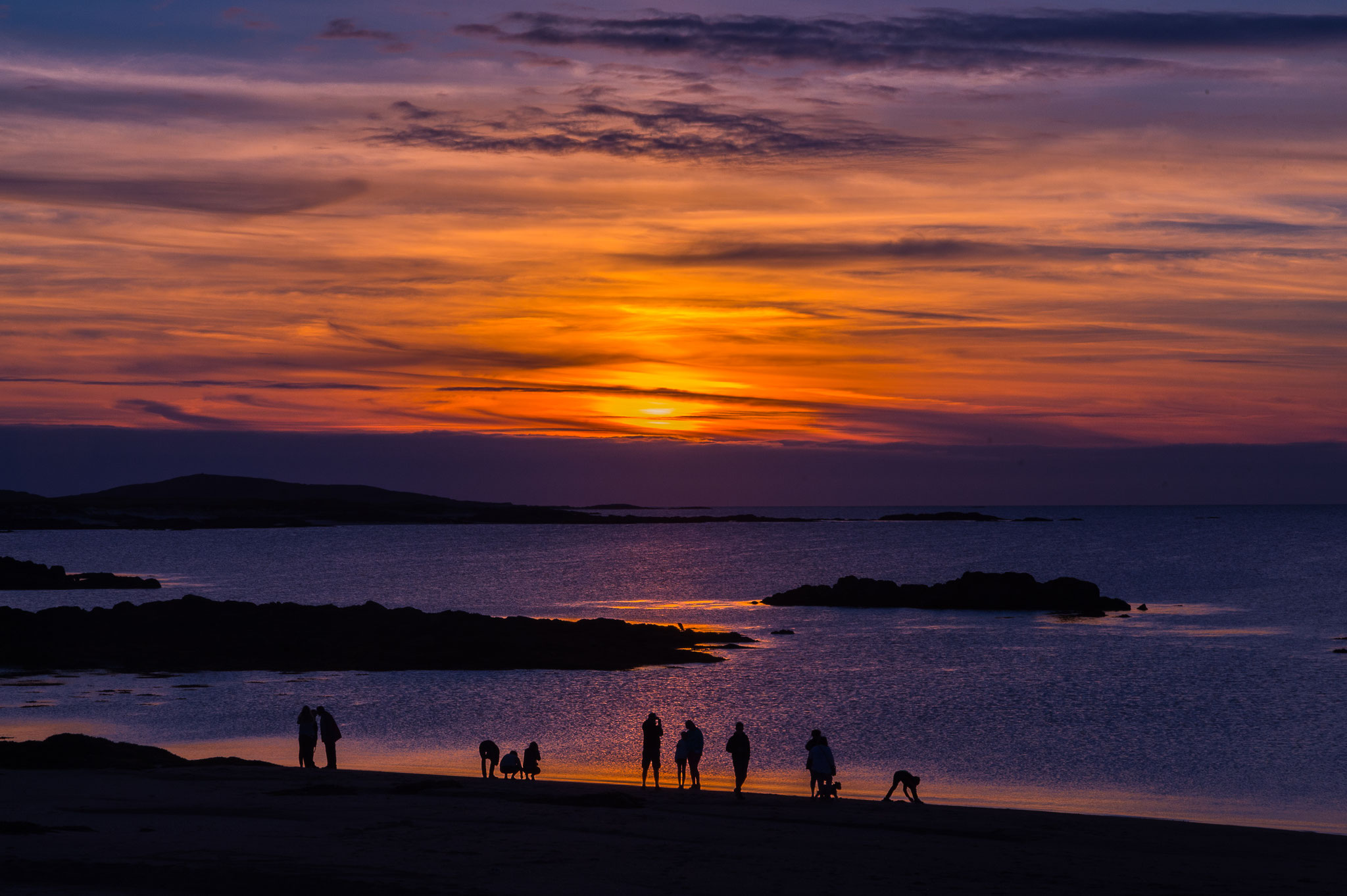 _D4S6940_coucher de soleil-parc du Connemara Cliffden-Irlande