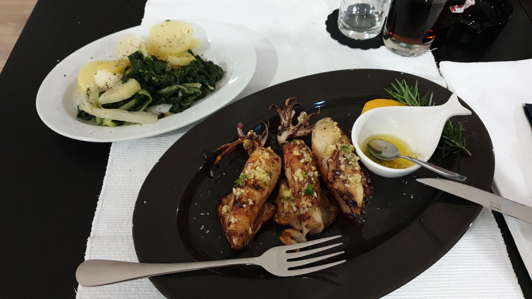 Lecker essen im Mediterran