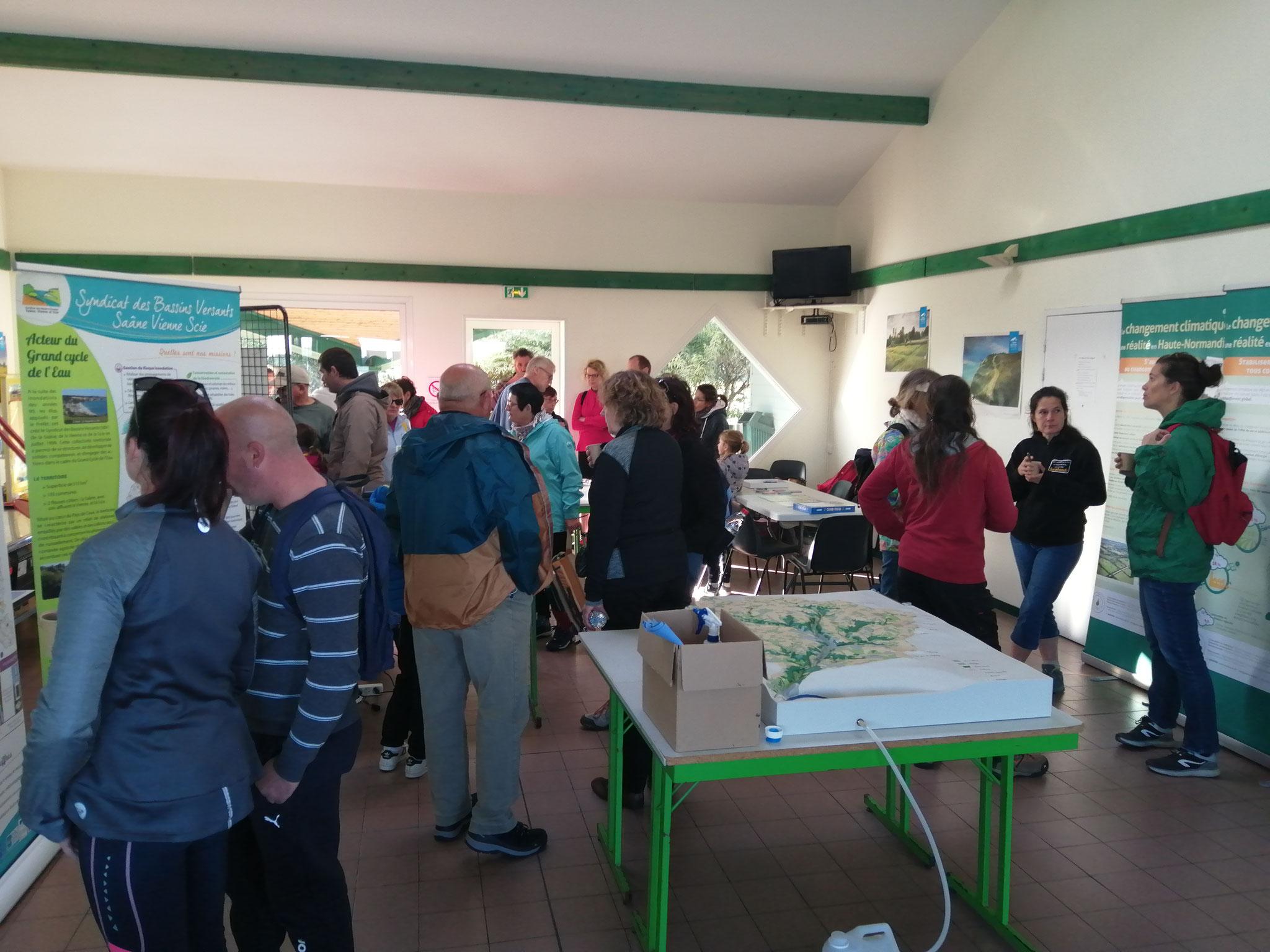 Espace pédagogique installé au camping de Quiberville-Sur-Mer.