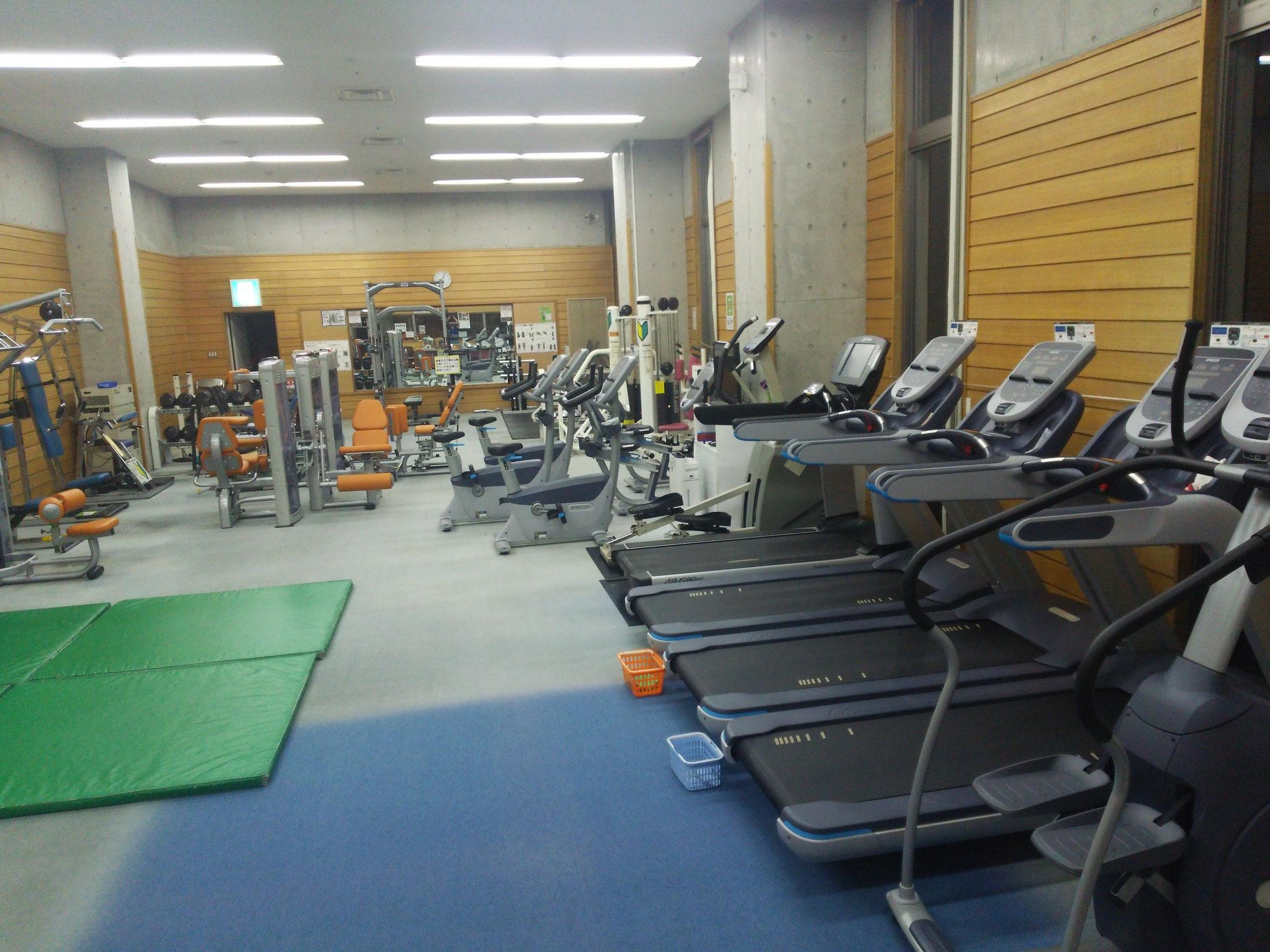 毎日興業アリーナ久喜 トレーニング室の画像