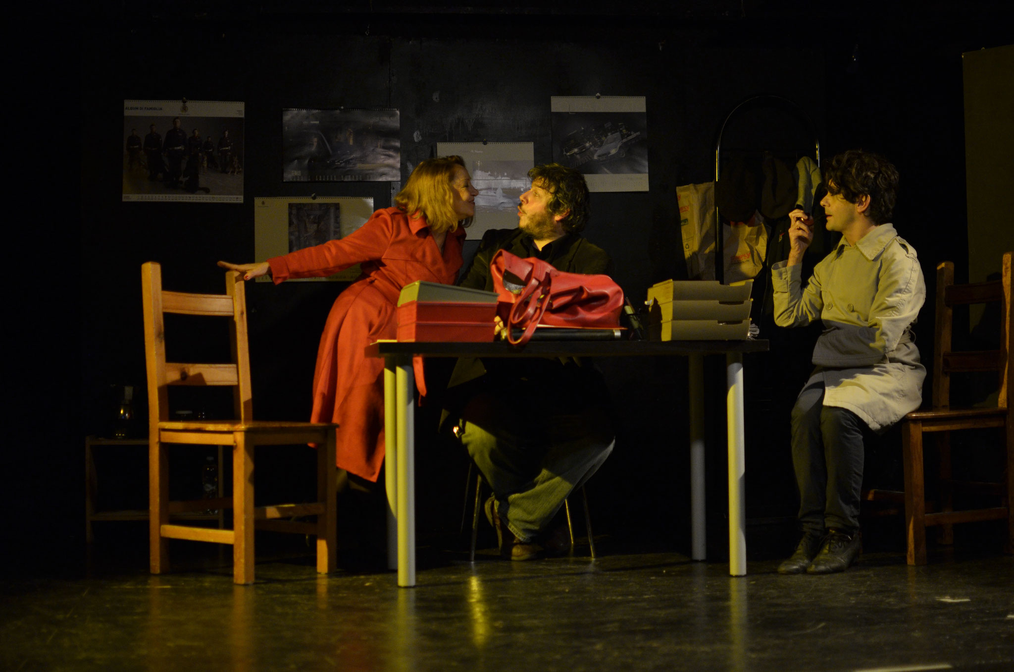 """Novembre 2016 """"Il Commissario Mordani"""" al Teatro Elettra"""