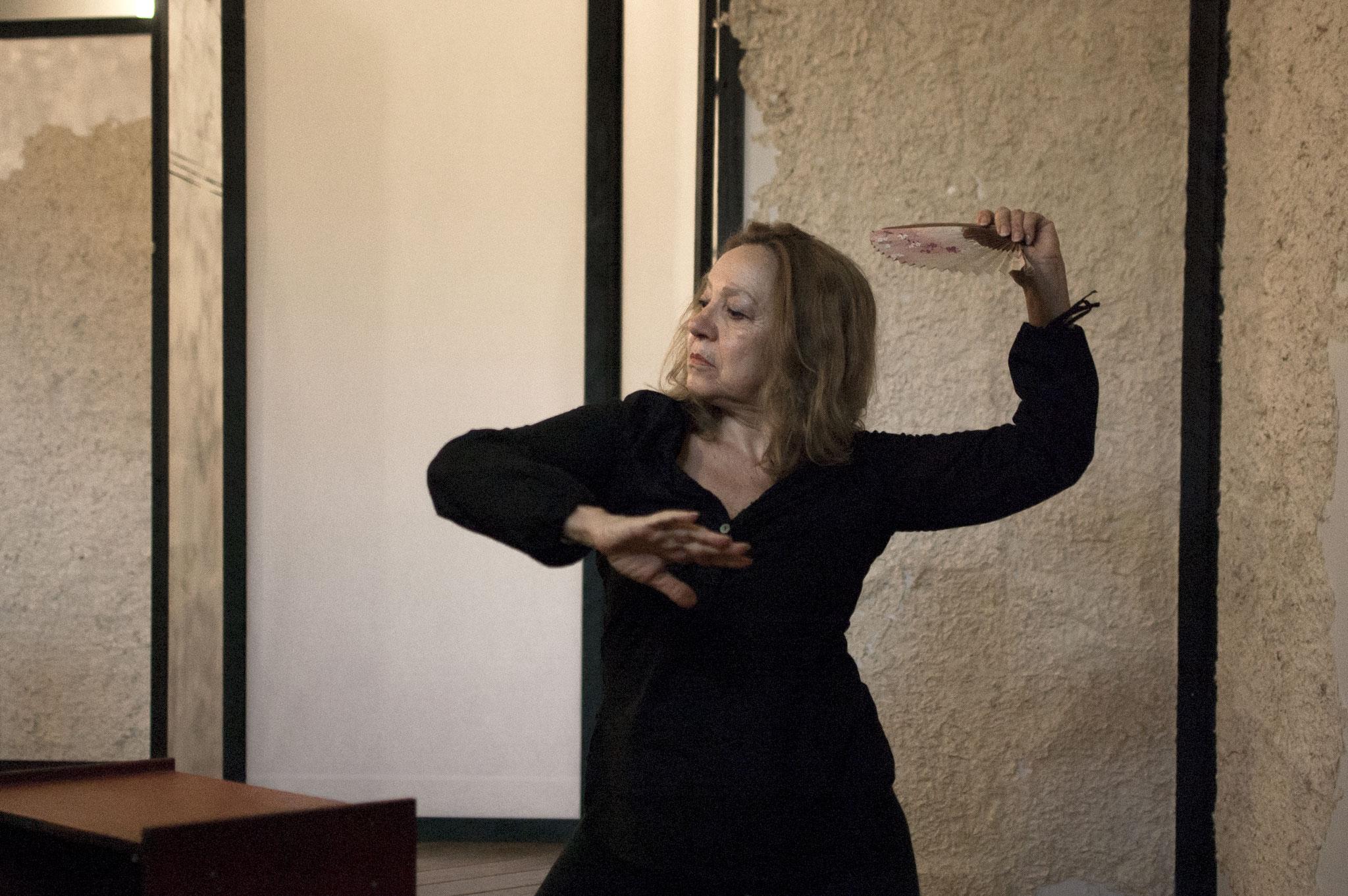"""Novembre 2015 """"La Signora di Rokujo"""" al Teatro Elettra-prove"""