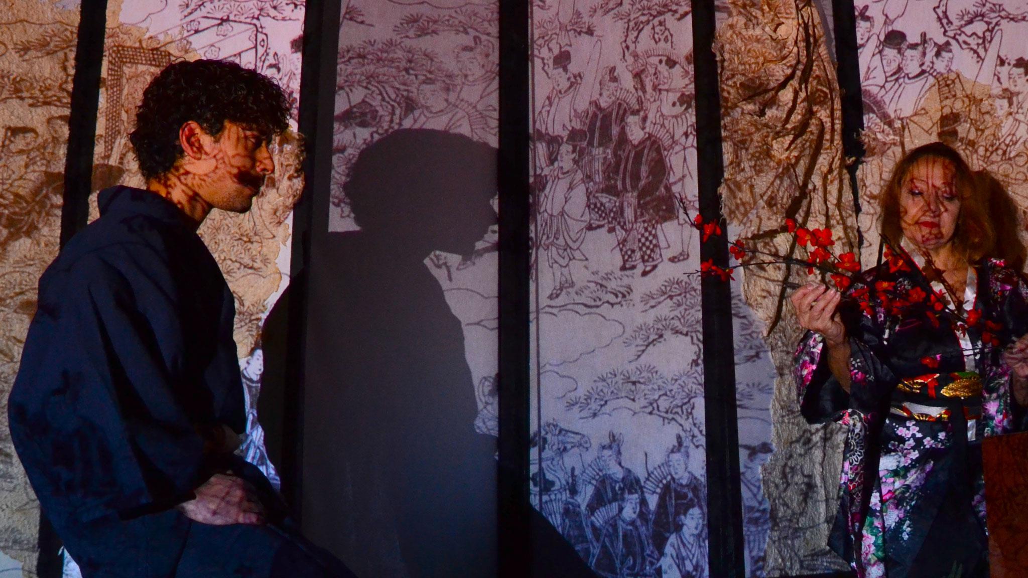 """Novembre 2015 """"La Signora di Rokujo"""" al Teatro Elettra"""