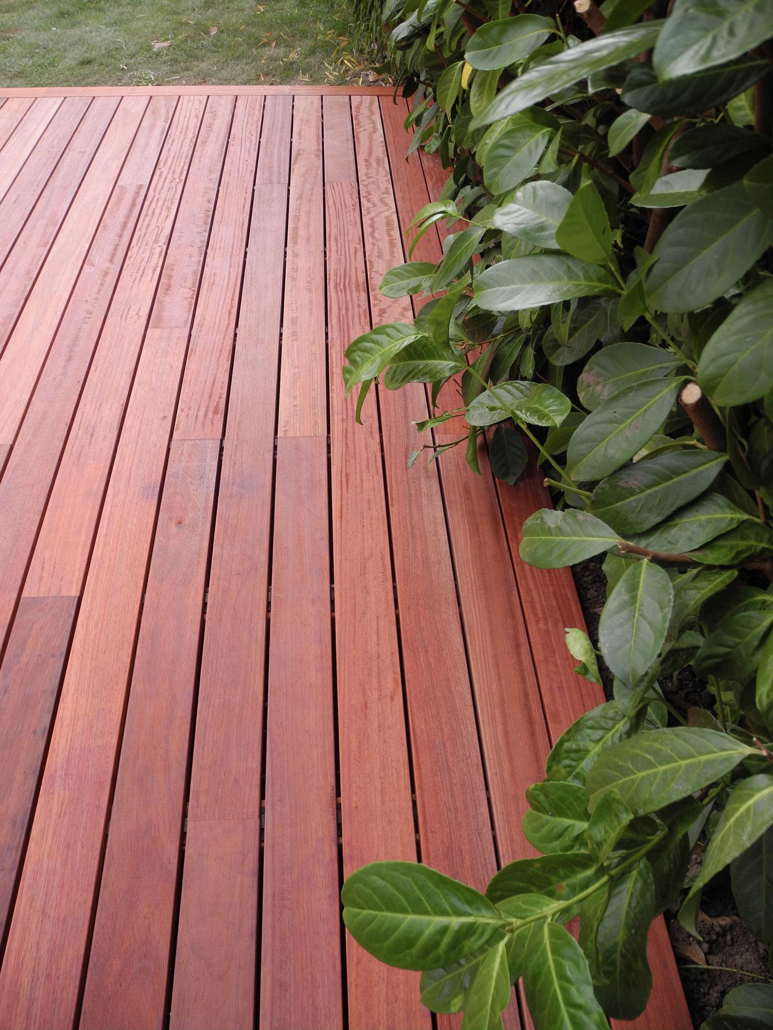 Padouk Terrassen Deck
