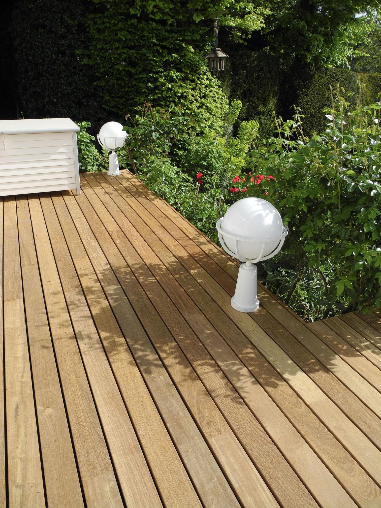 Ipe Softline Terrassen-Parkett