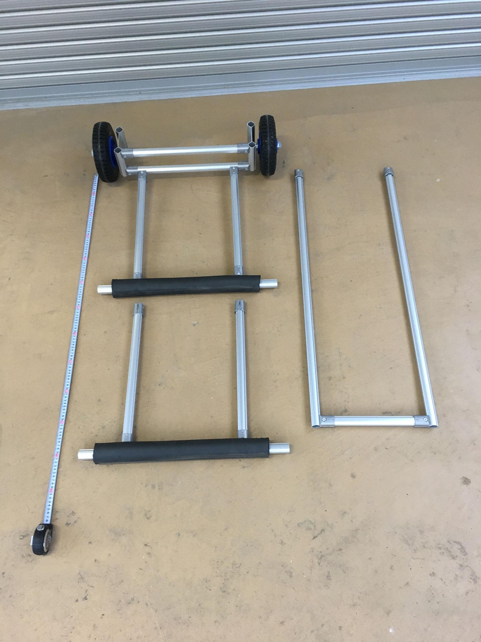 六角レンチ1本で簡単に組み立て可能!