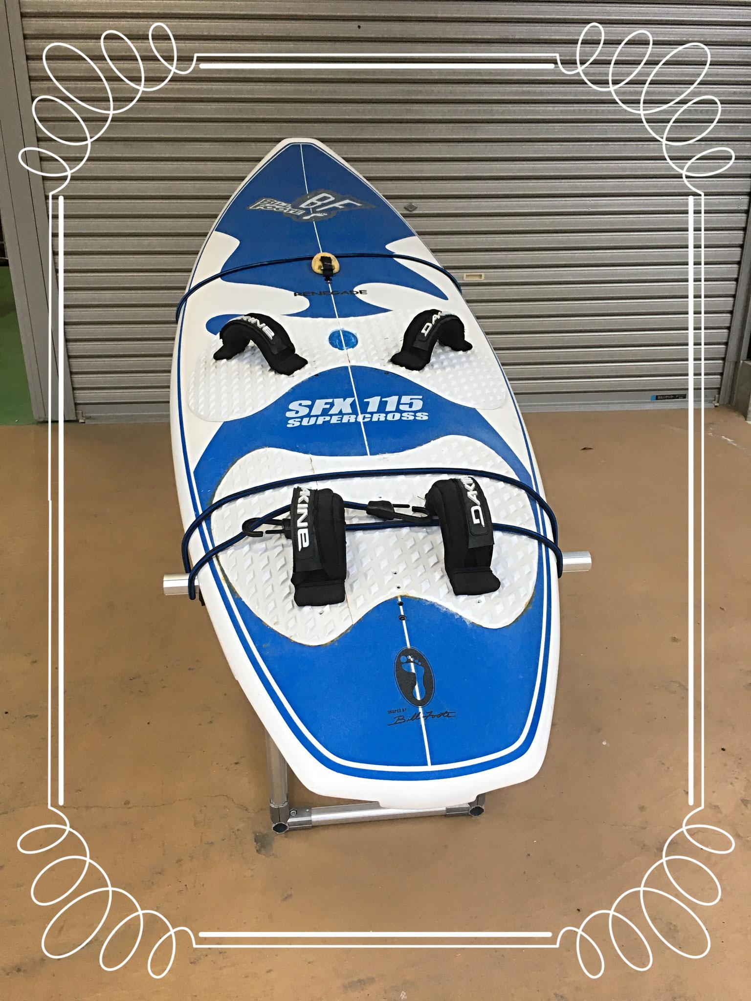 Wサーフィンボードを乗せてみました!