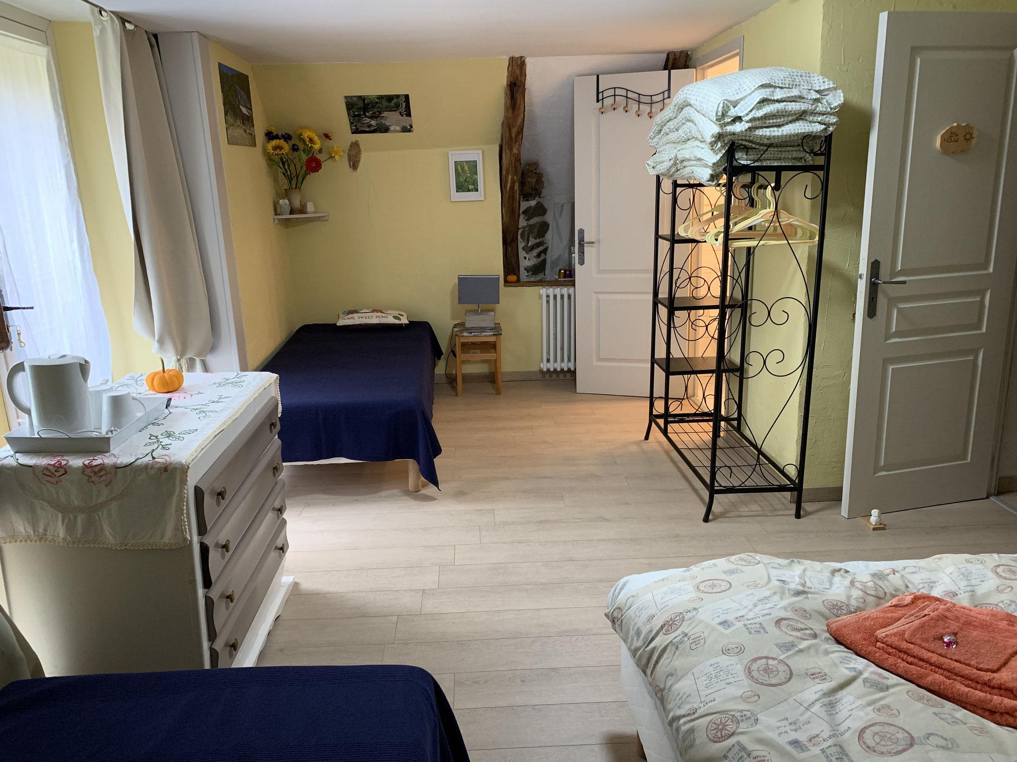 Chambre été terrasse et entrée privée, 2/3/4 pers.