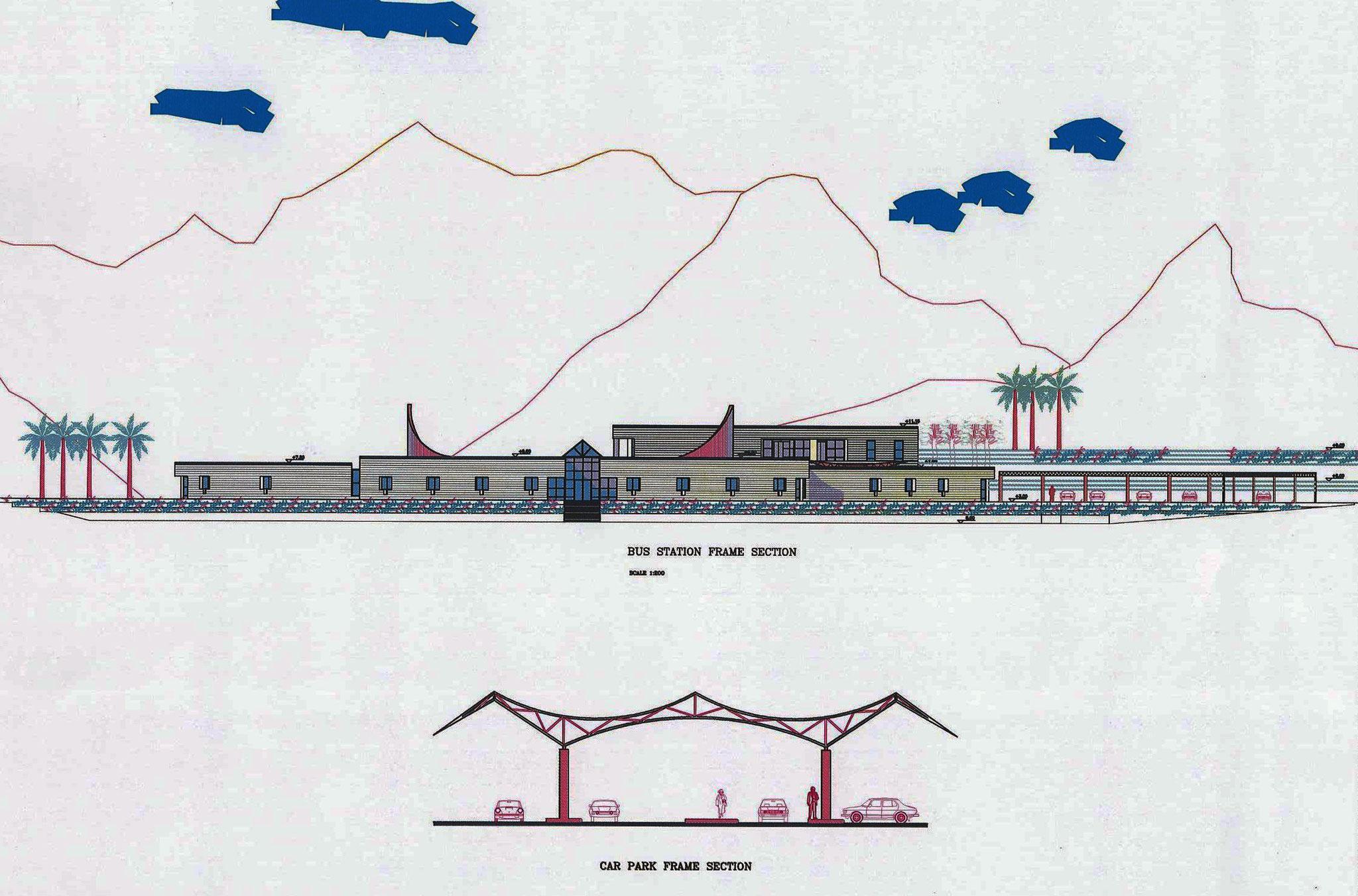 Terminal Station Concept - Aqaba