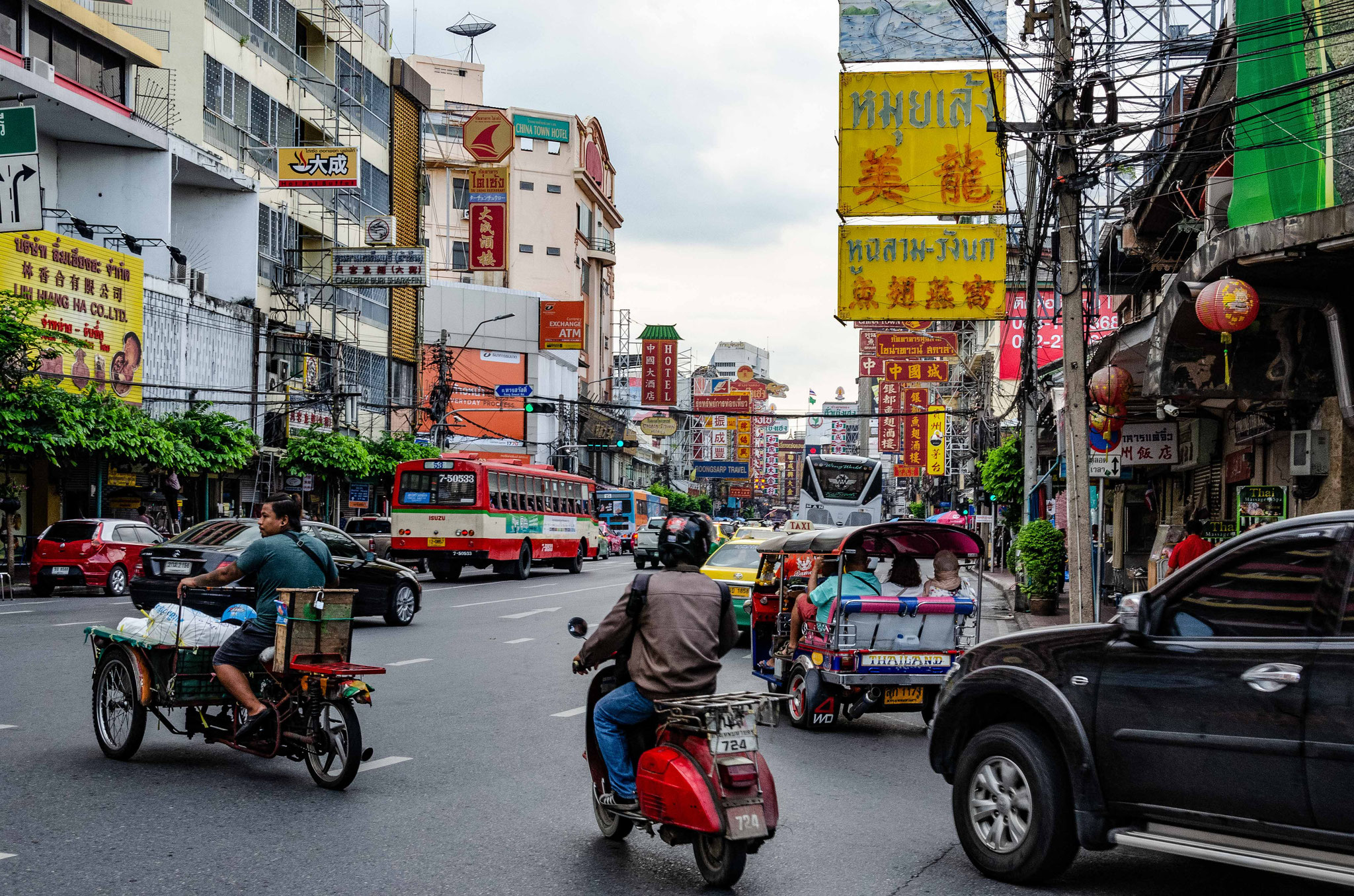 Bangkok - GG- Entrée quartier chinois